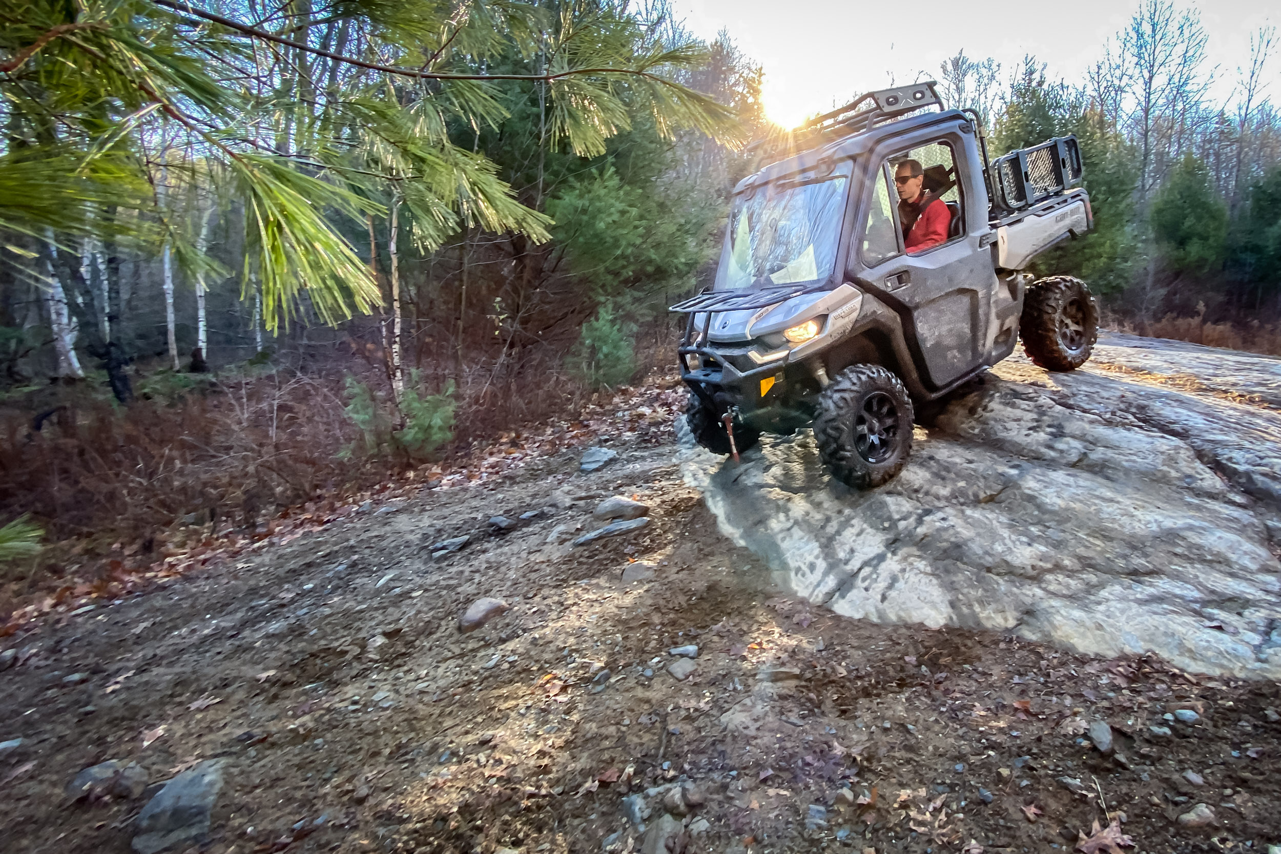 2021 Can-Am Defender Limited off-road