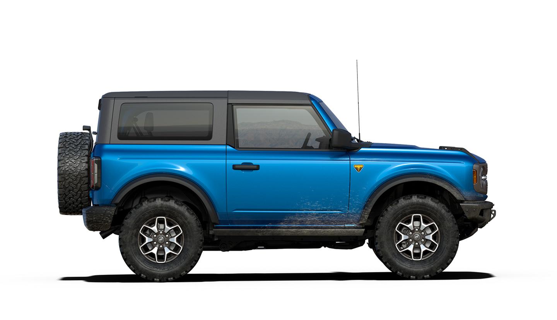 2021 Ford Bronco 2-door render