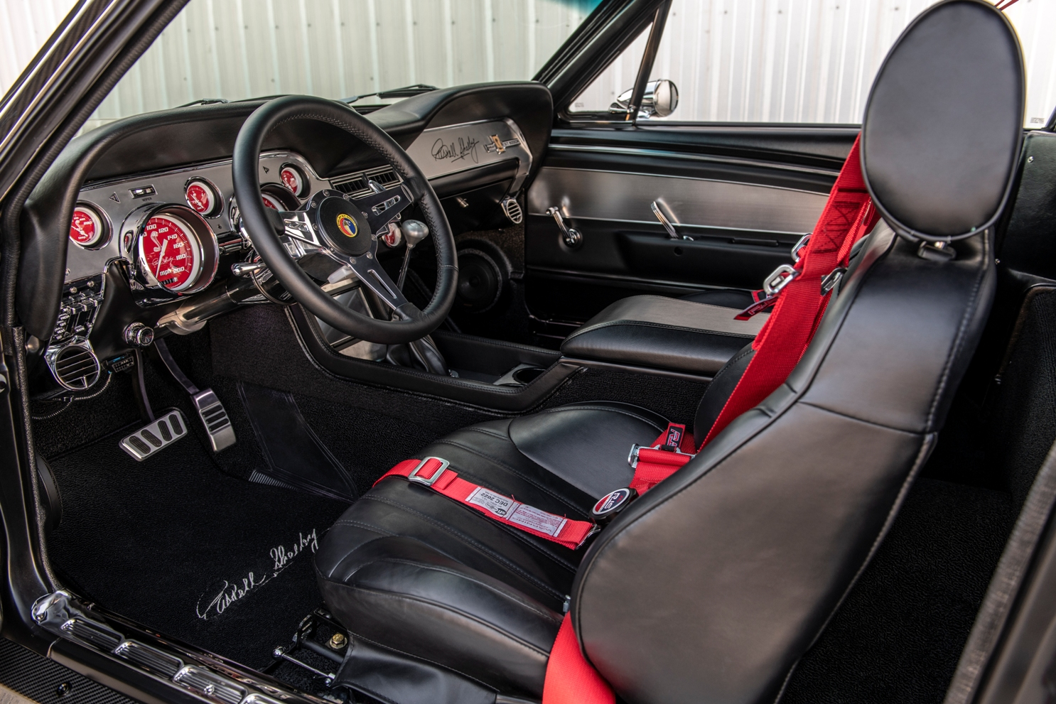 Interior Classic Restorations Mustang GT500CR Shelby Carbon Edition