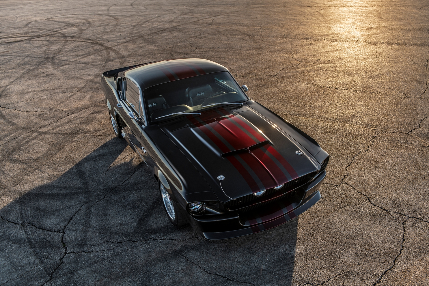 Classic Restorations Mustang GT500CR Shelby Carbon Edition