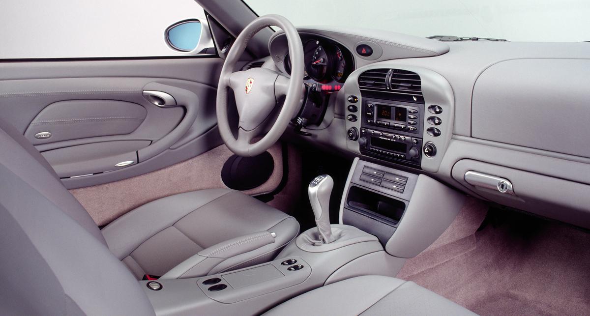 Porsche 996 Graphite Grey Interior