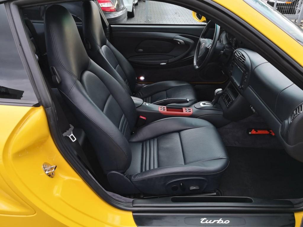 2001 996TT Black Leather Interior