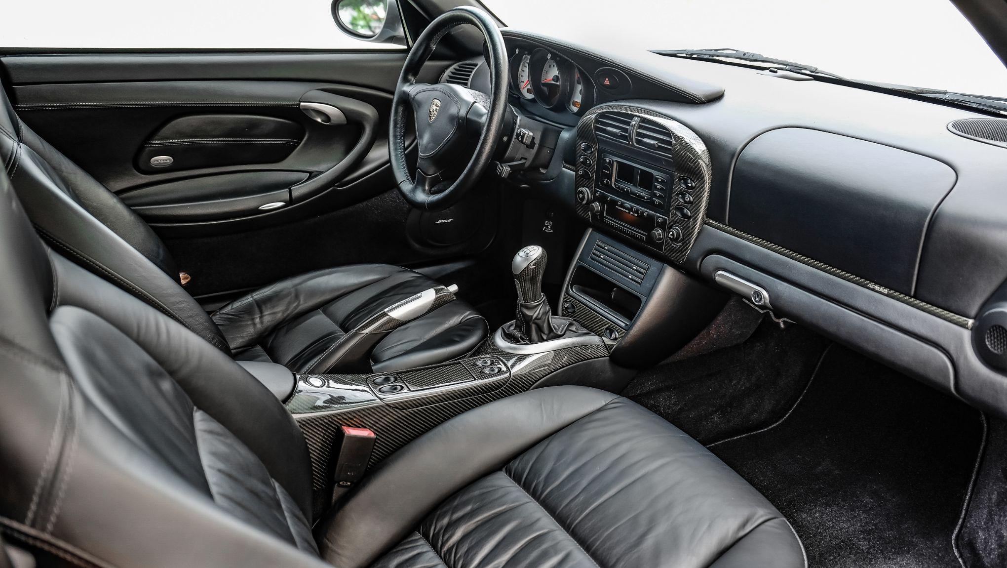 2002 911TT Black Supple Interior