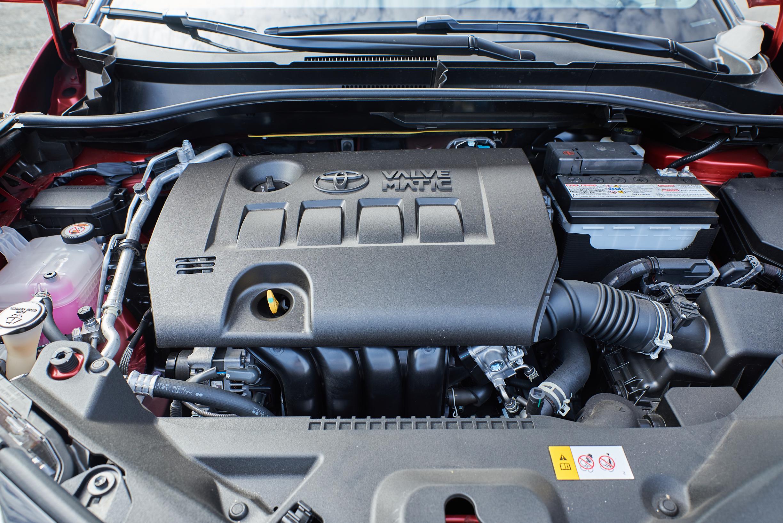 Toyota C-HR 2.0 liter 4-cylinder engine