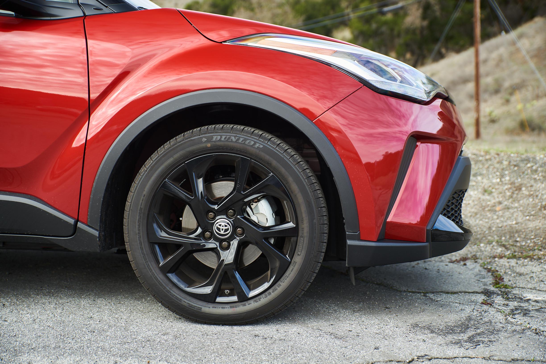 """""""Toyota C-HR 18"""""""" lengvo lydinio sportiniai ratai juodos spalvos"""