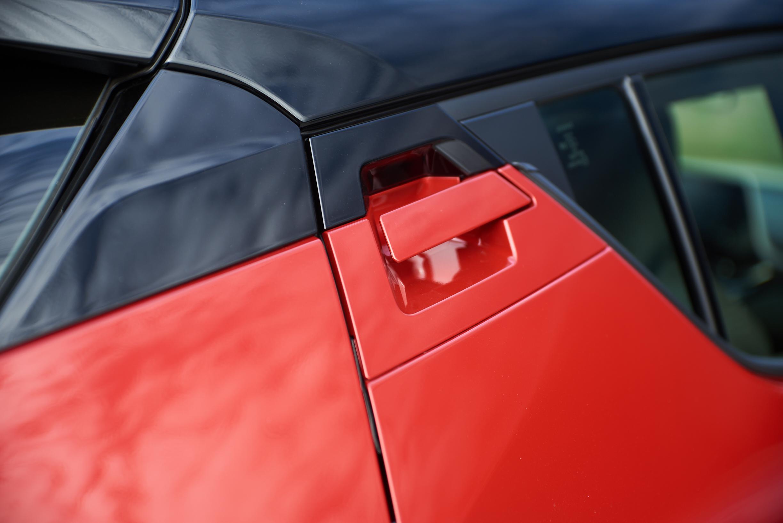 Toyota C-HR rear door handle