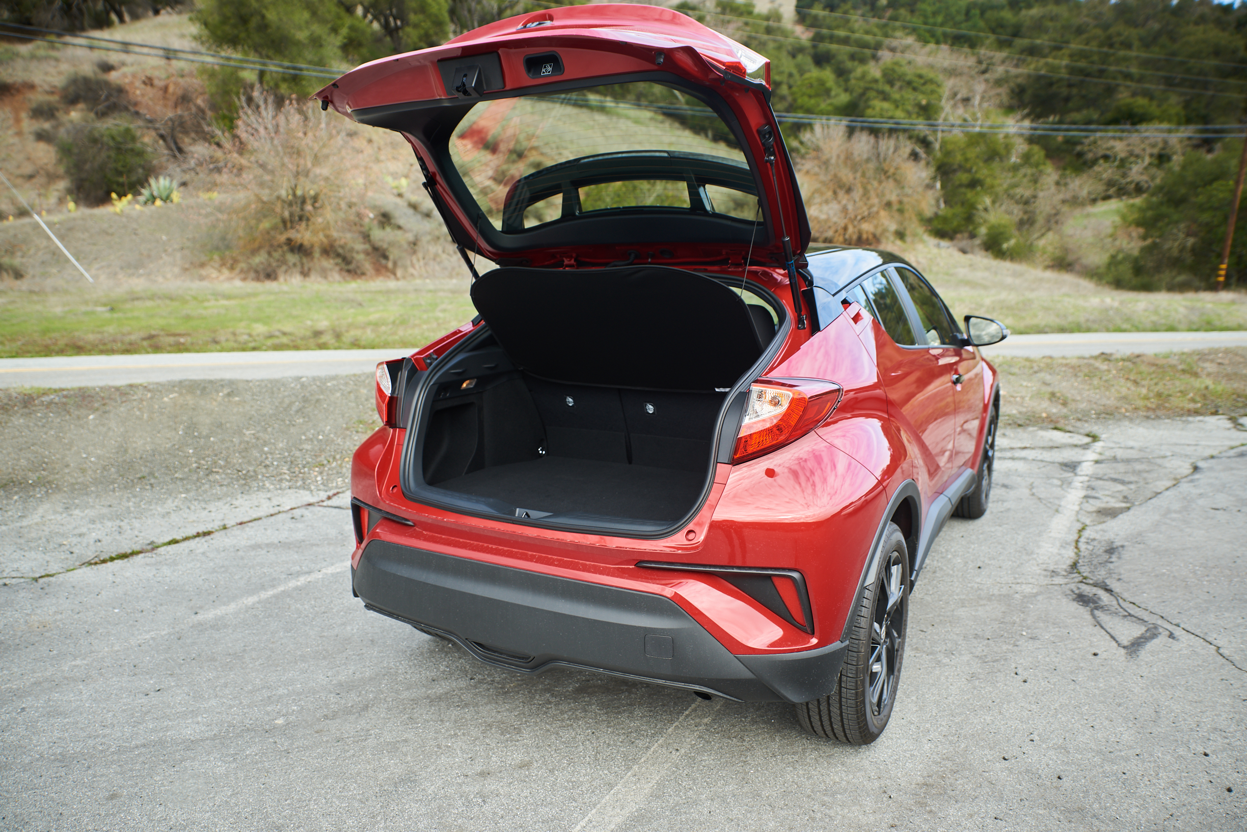 Toyota C-HR trunk space