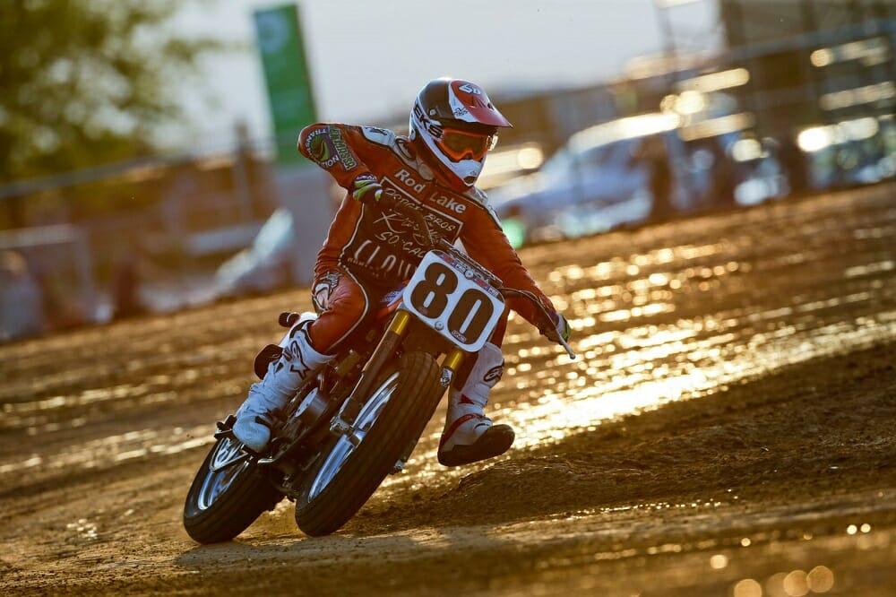 dirt flat track racer
