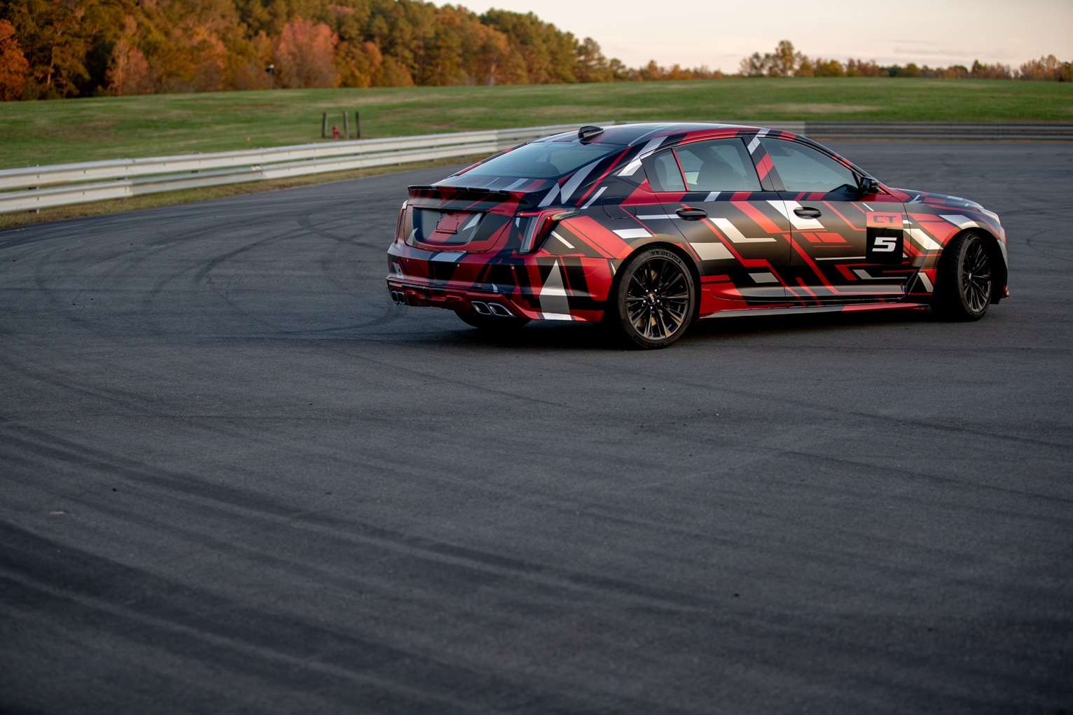 Cadillac 2022 CT5-V Blackwing in camo