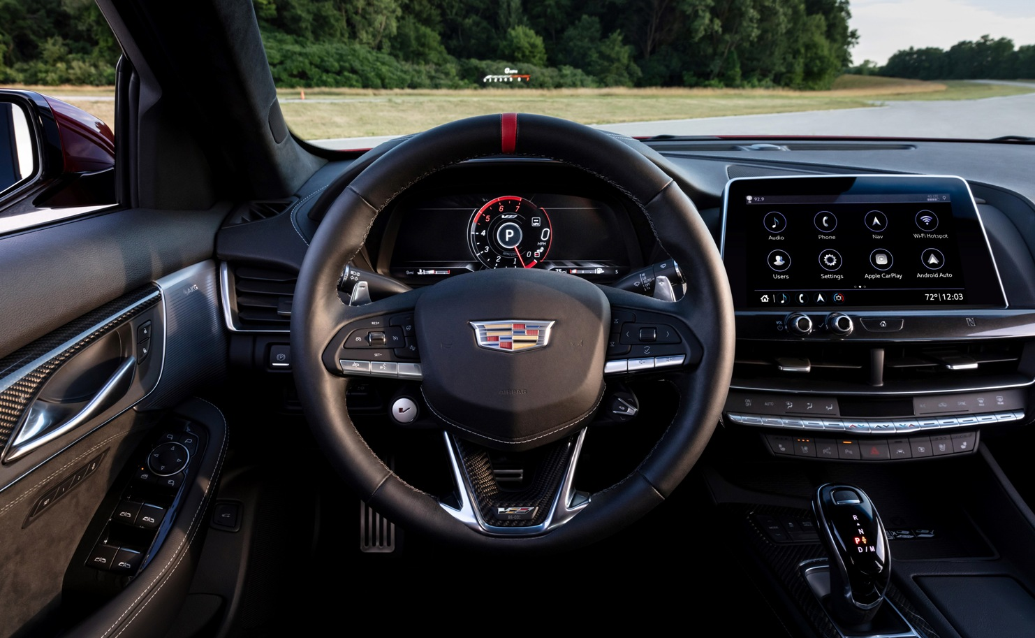 interior of Blackwing Cadillac