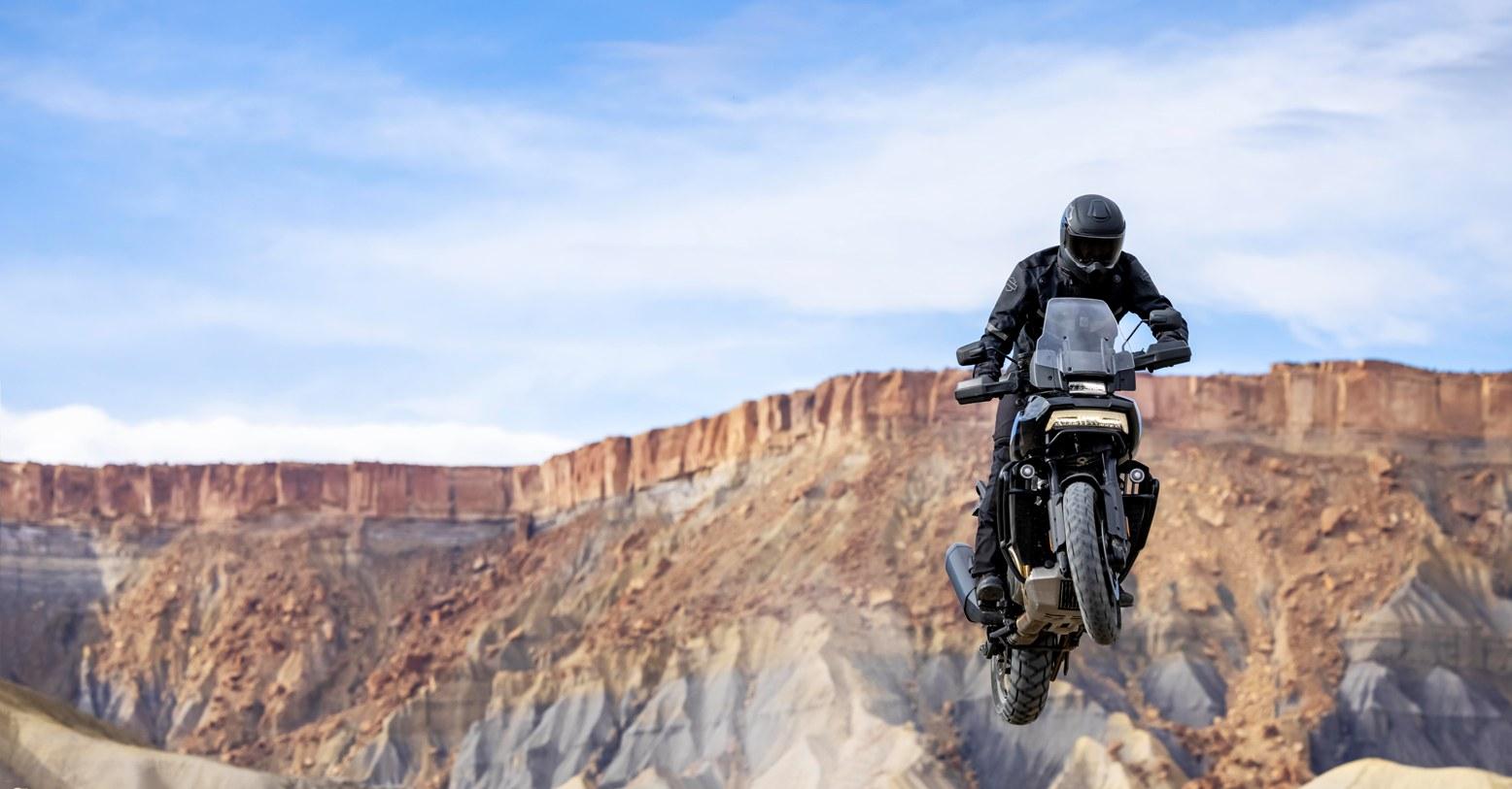 Pan America Motorcycle