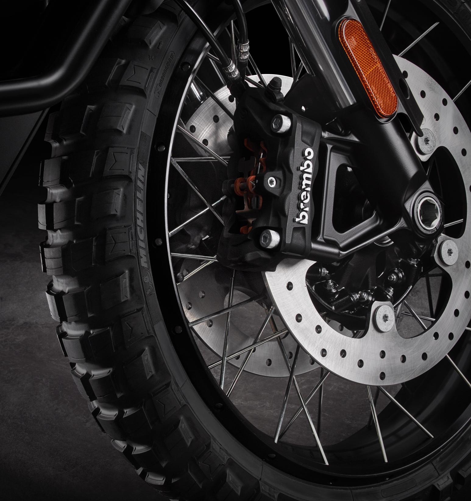 Pan America Motorcycle fornt brakes