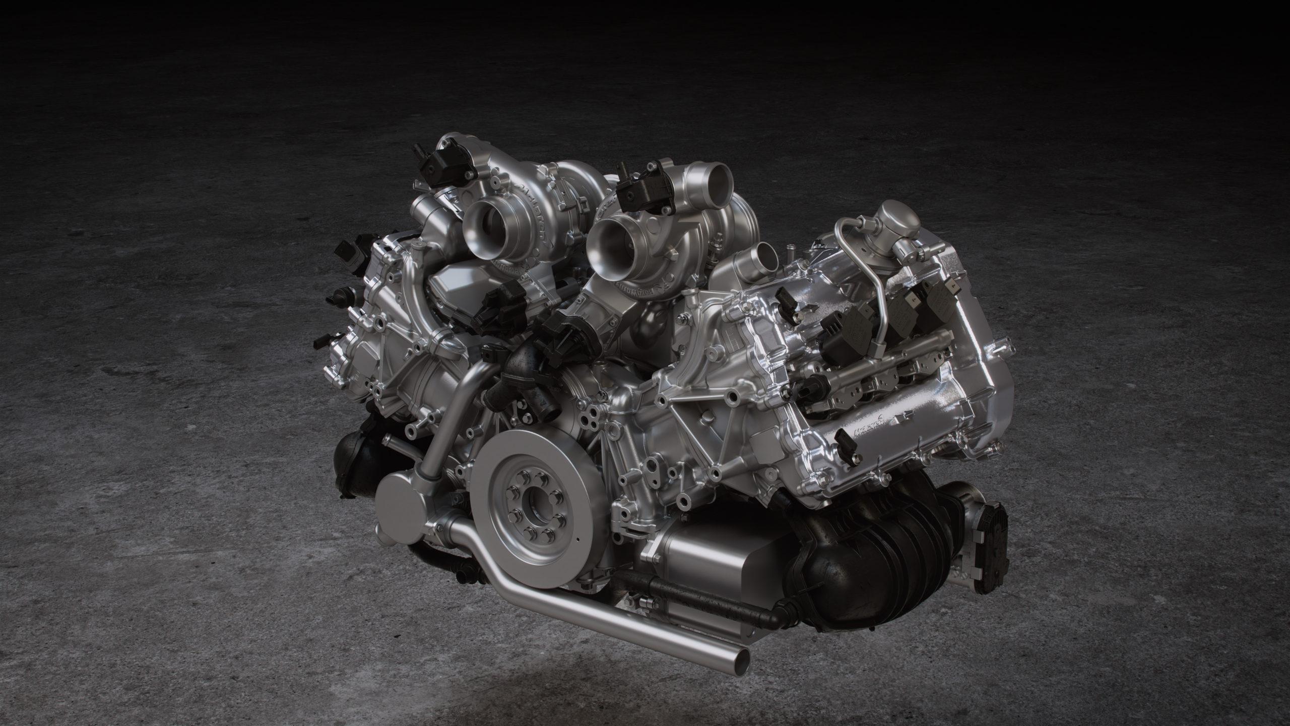 2022 McLaren Artura twin-turbo V6