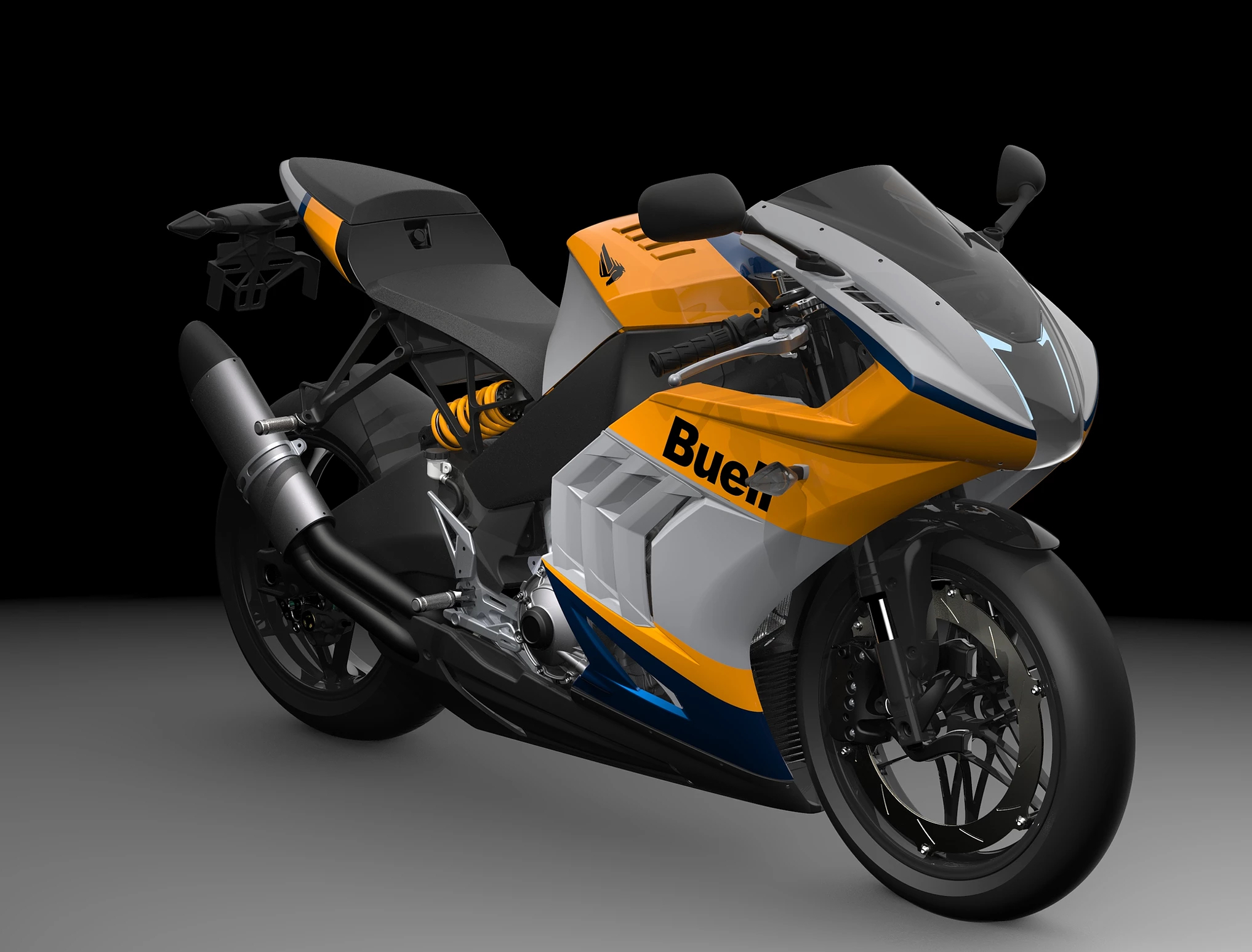 2021 Buell 1190RX