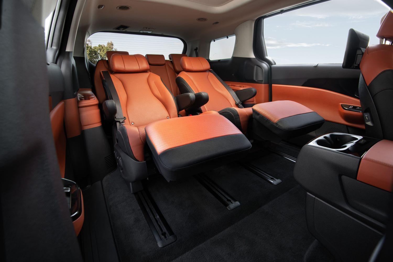 Kia's luxury seats for Carnival
