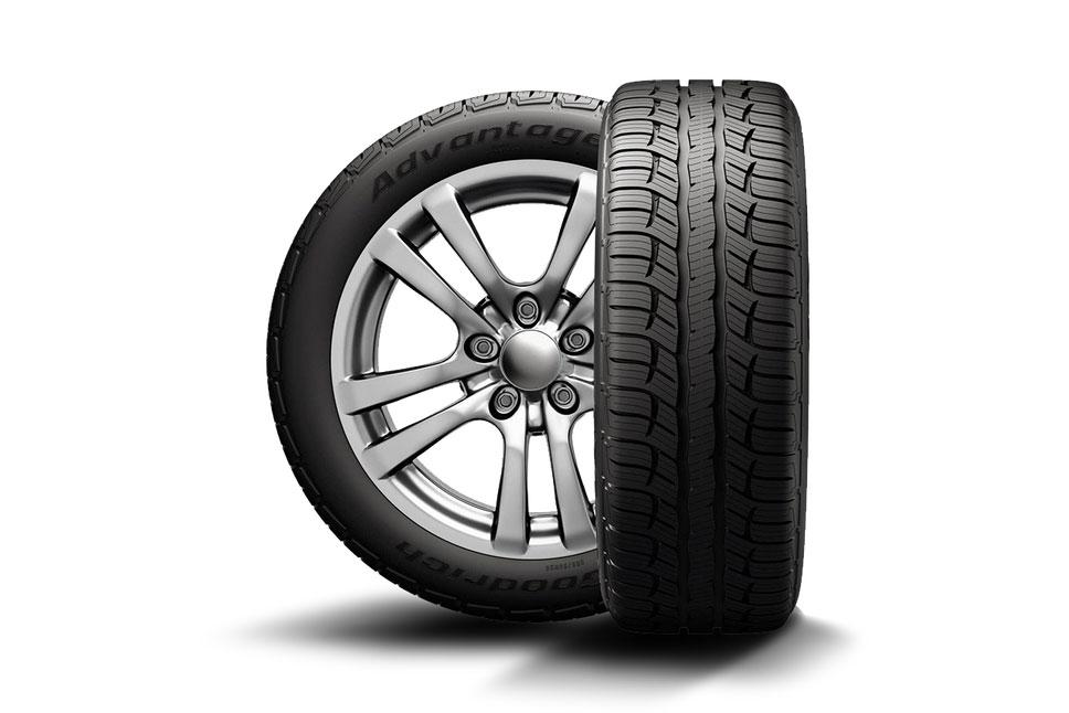 best suv tires: bf goodrich advantage sport lt