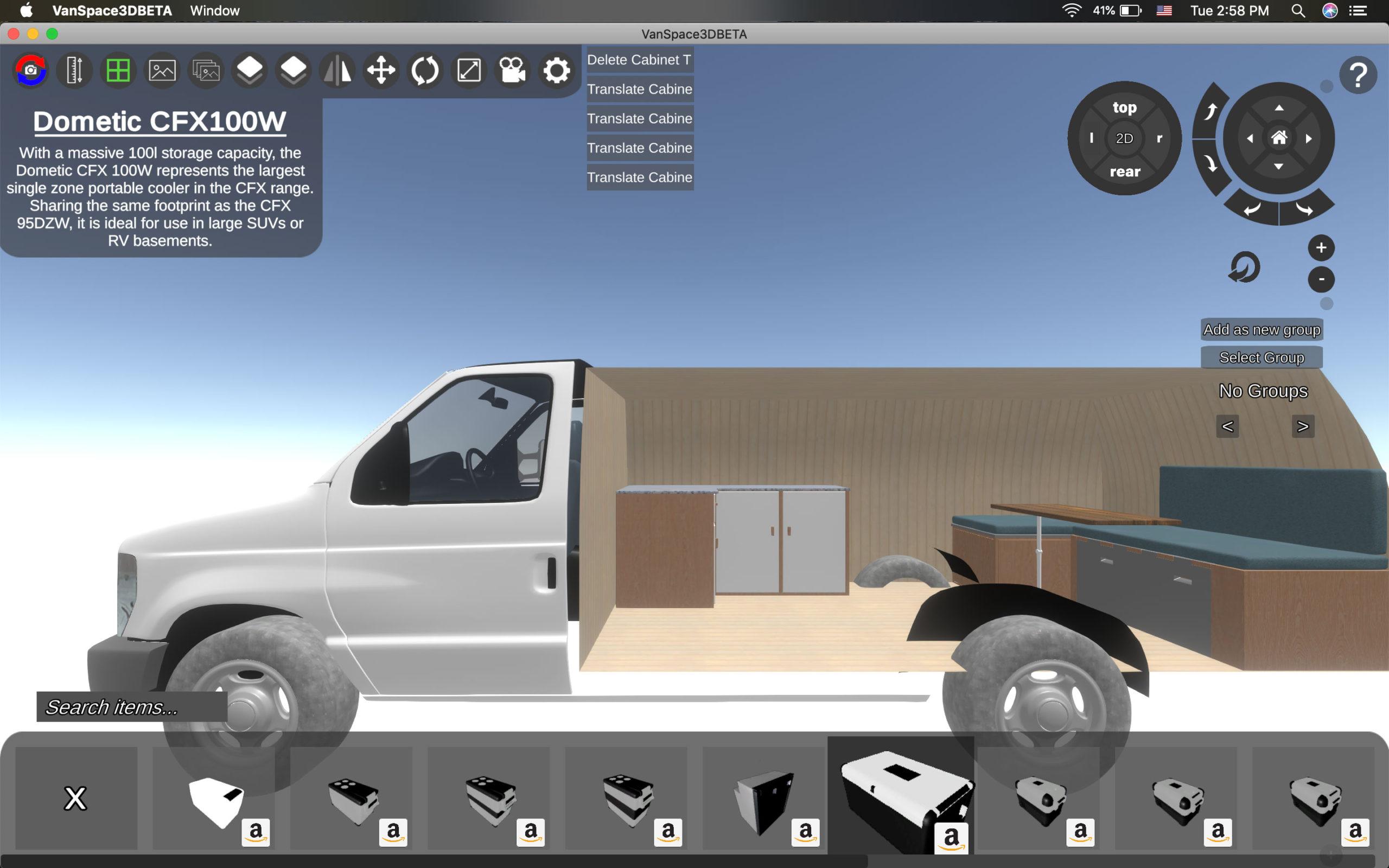 Vanspace 3D review