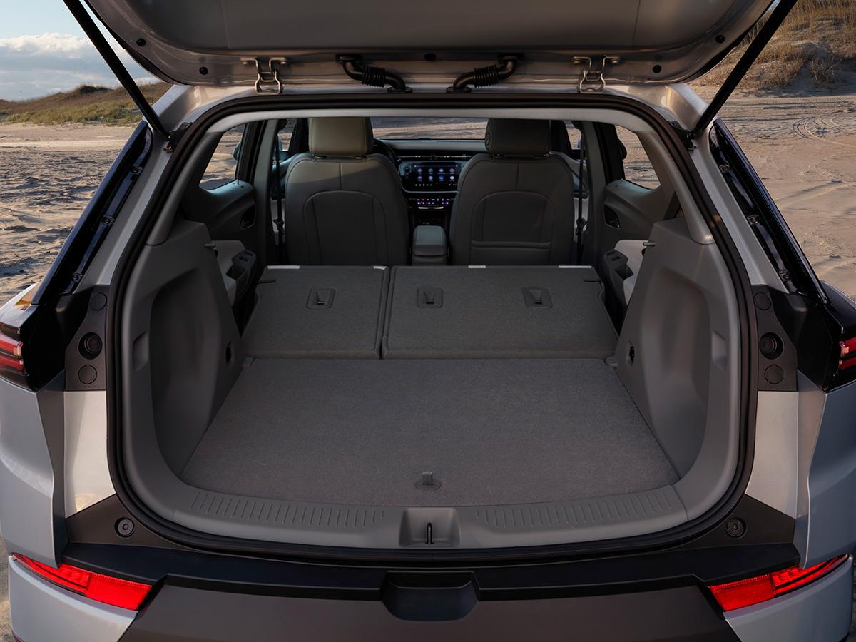 2022 Chevrolet Bolt EUV cargo area