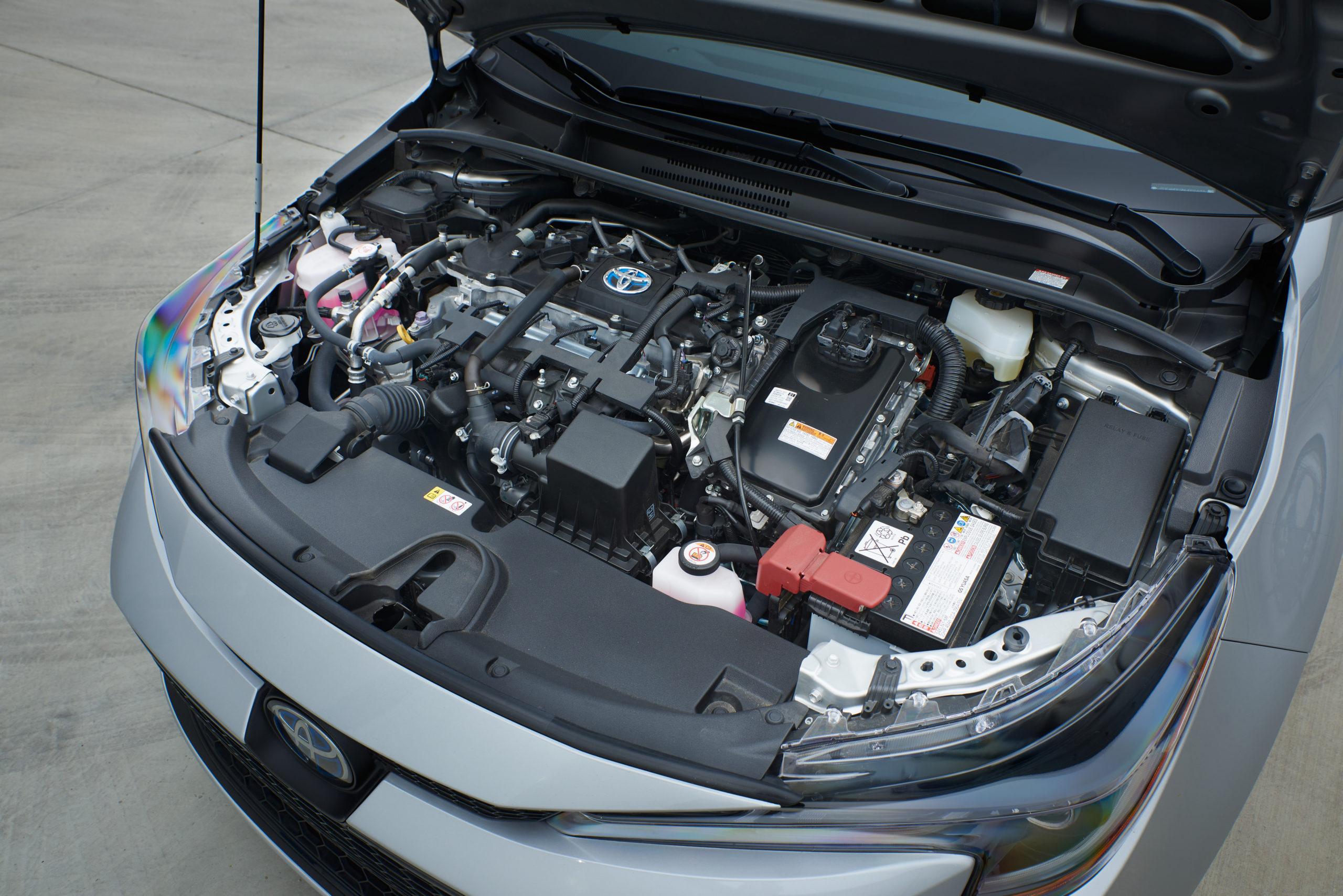 2021 Toyota Corolla Hybrid Engine