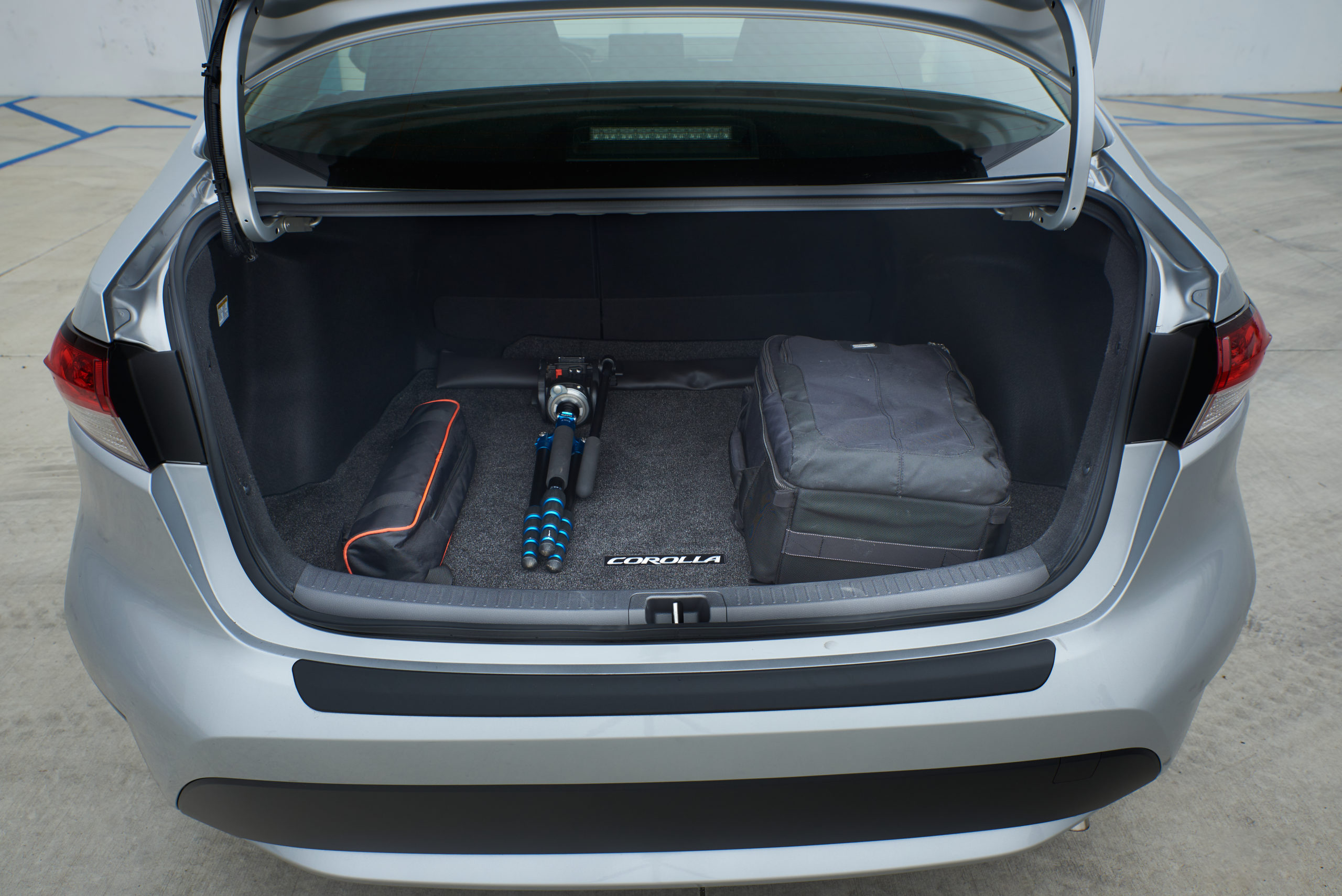 2021 Toyota Corolla Hybrid trunk space