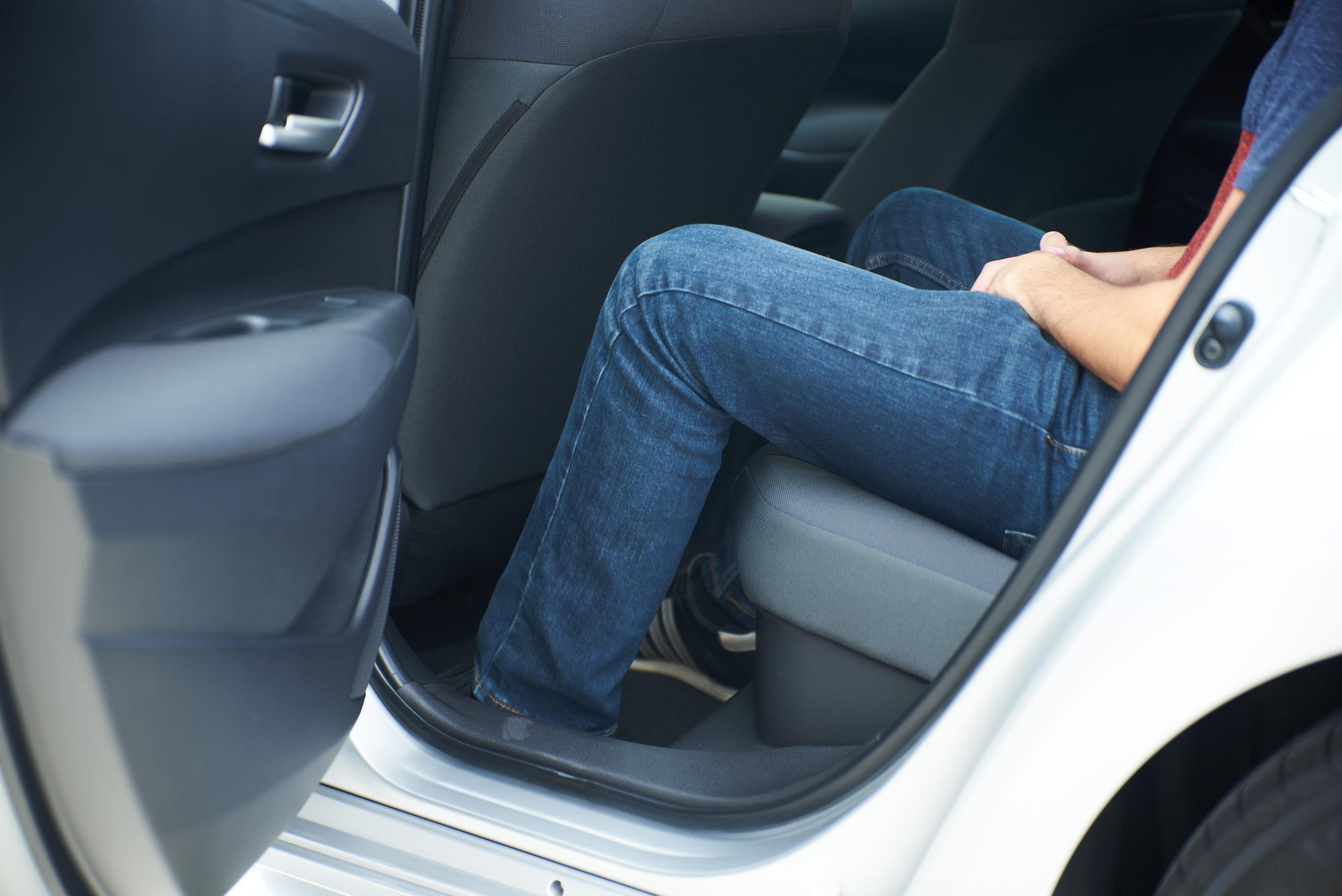 2021 Toyota Corolla Hybrid legroom
