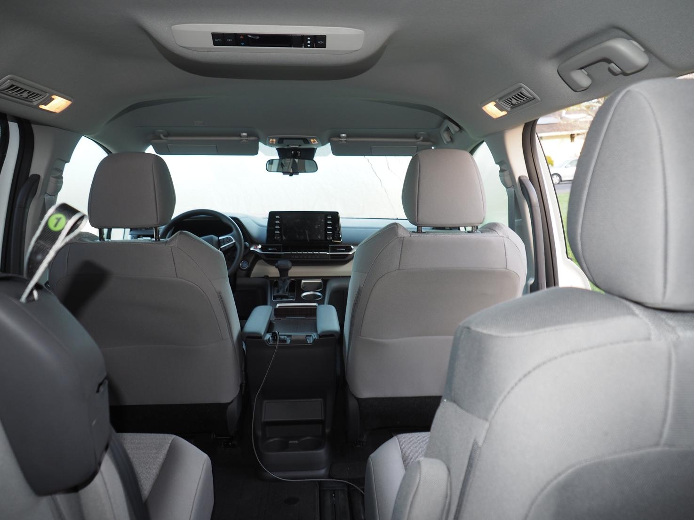 Interior 2021 Toyota Sienna