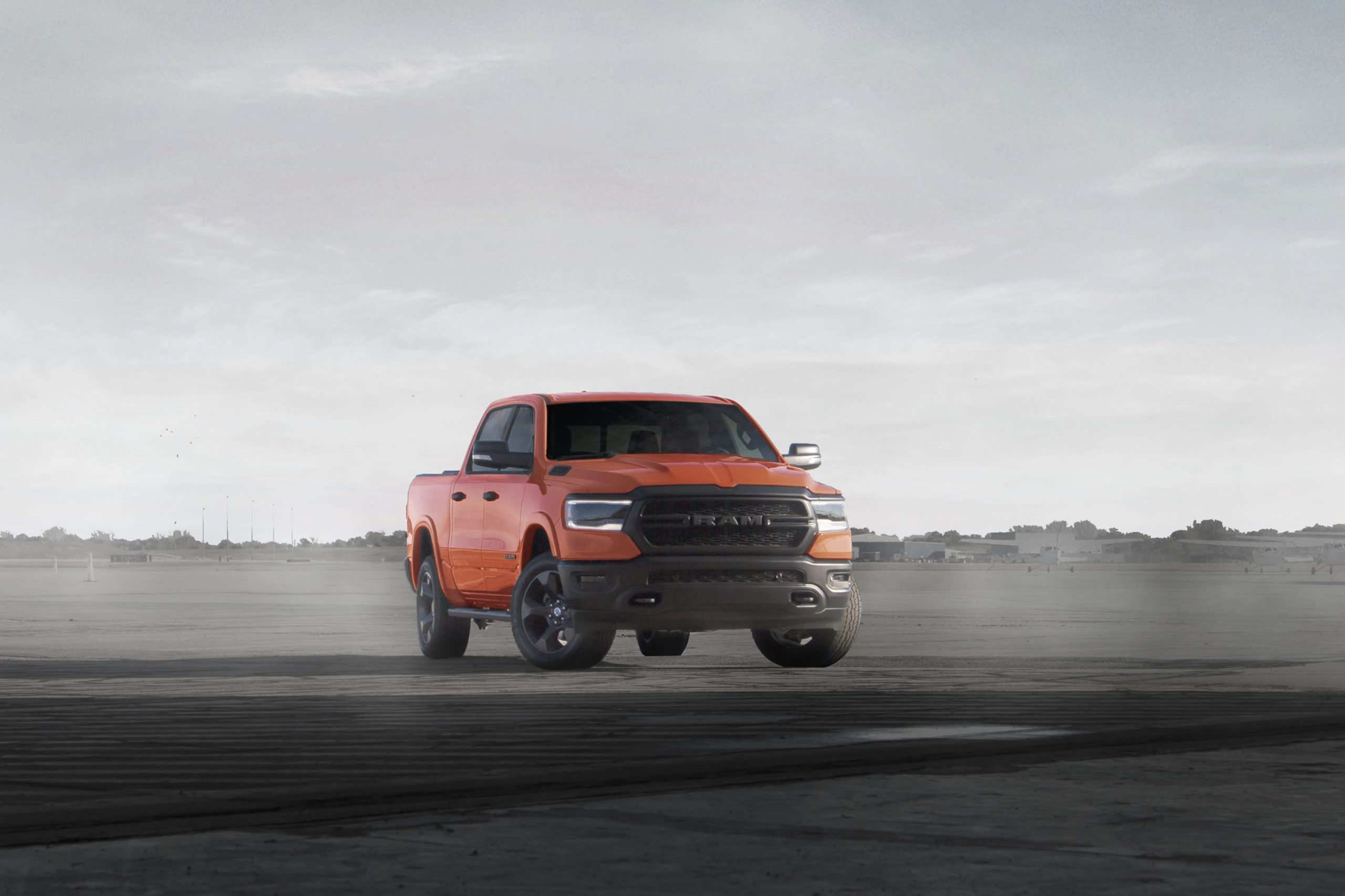 2021 Ram 1500 Built to Serve Edition in Spitfire exterior color