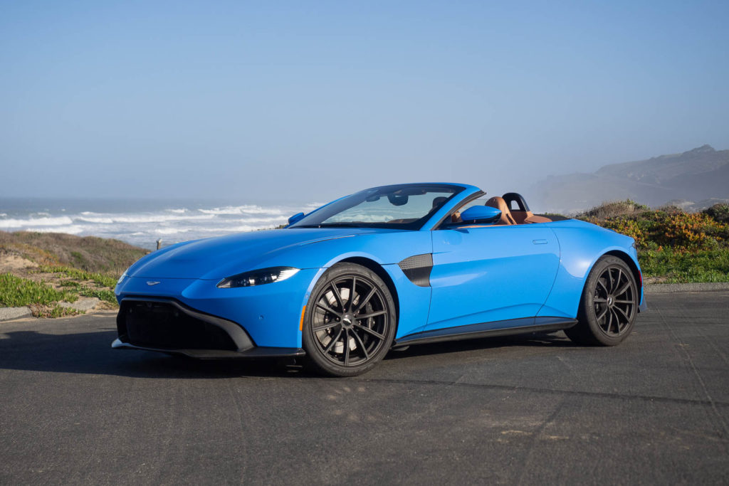 2021 Aston Martin Vantage Roadster Review