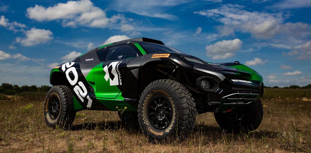 Extreme E race buggy