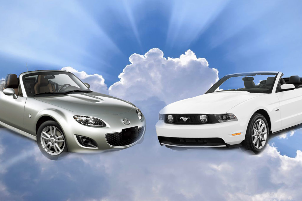 Miata vs Mustang