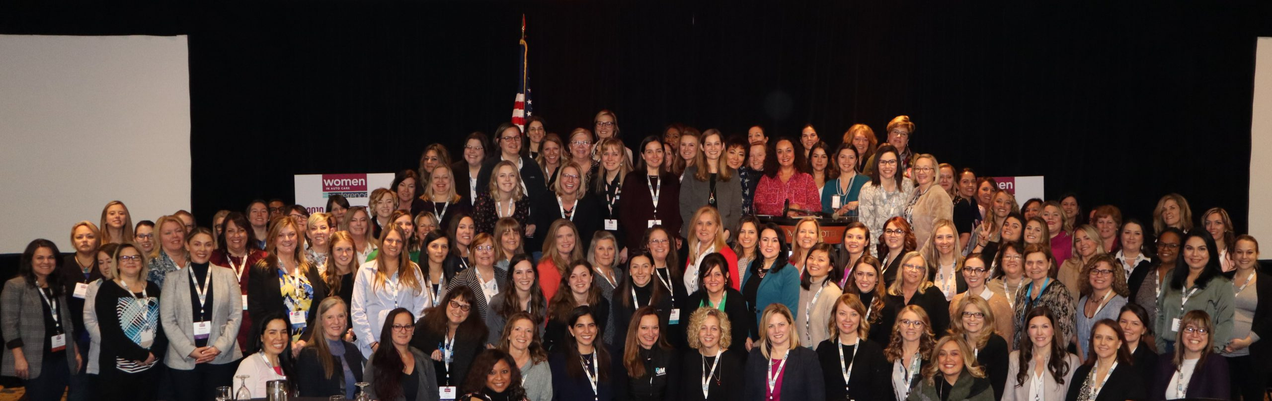 2020 Women in Auto Care Annual Leadership Conference attendees (photo supplied by Auto Care)