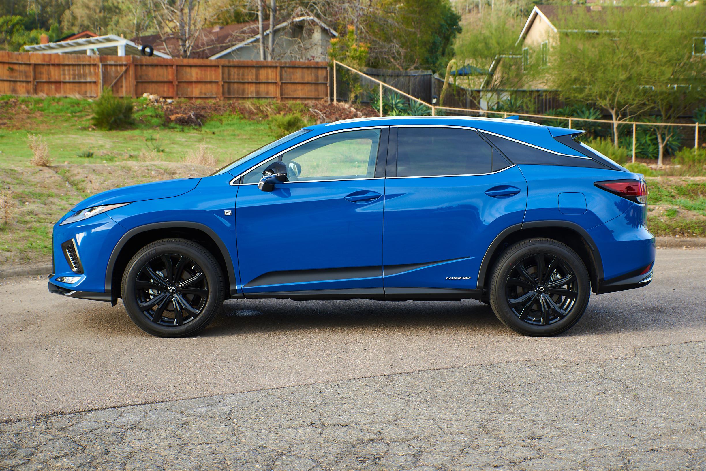 2021 Lexus RX side profile