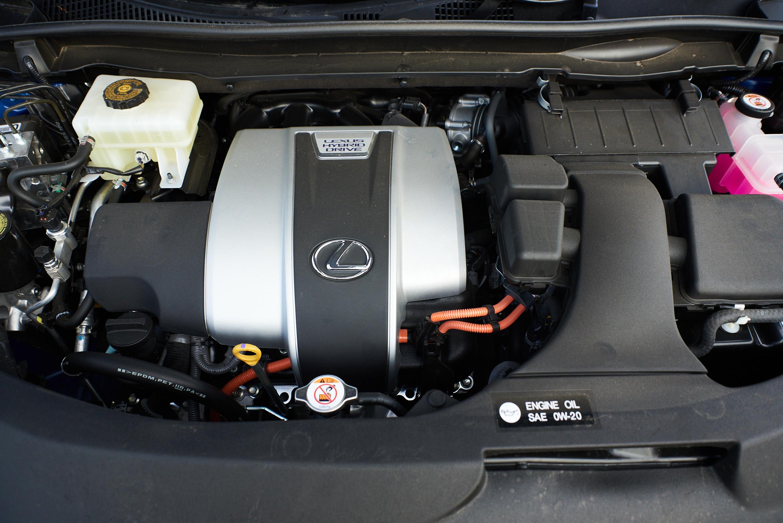 Lexus RX hybrid powertrain