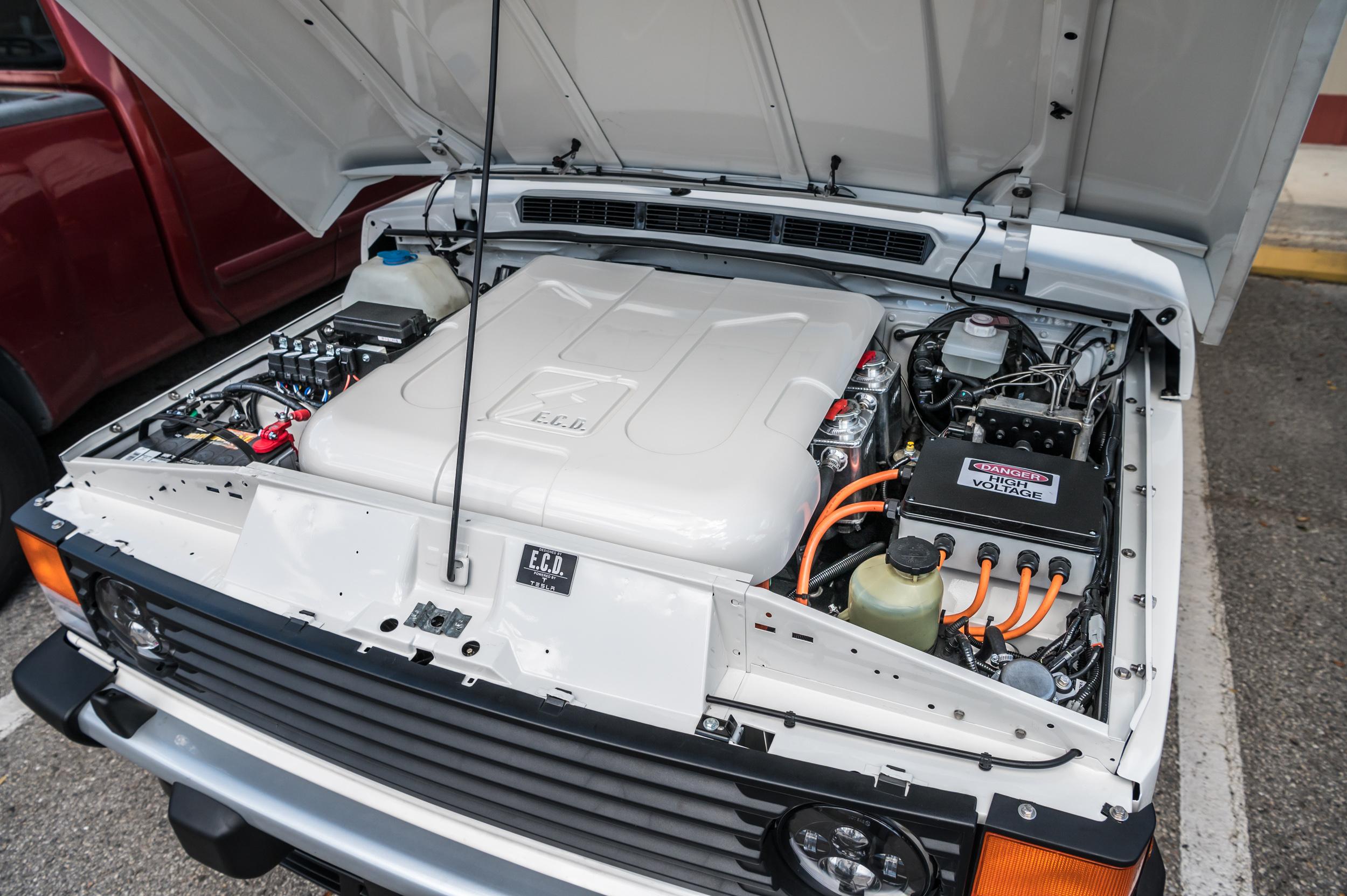 ECD electric RRC under hood battery pack