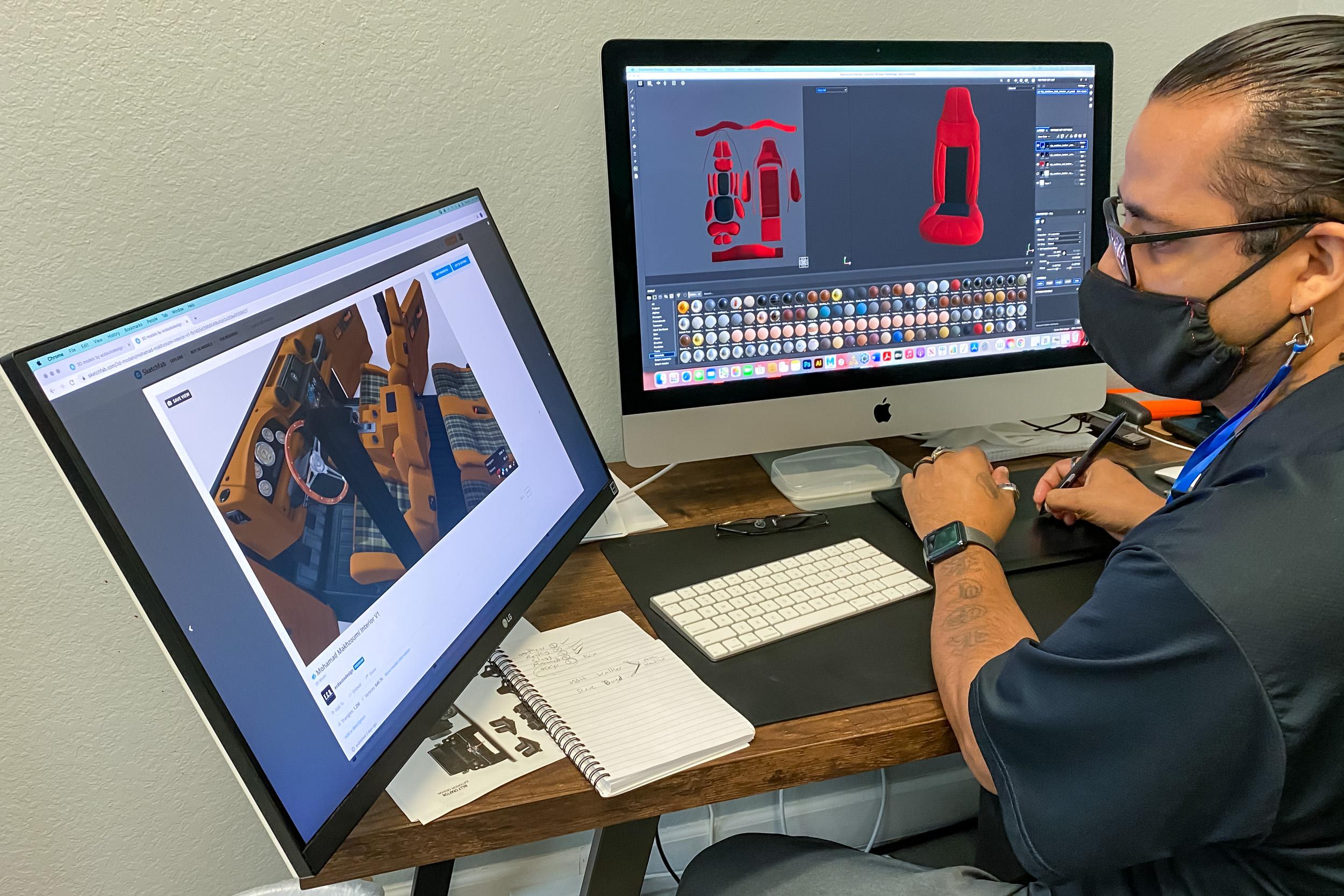 ECD custom design software