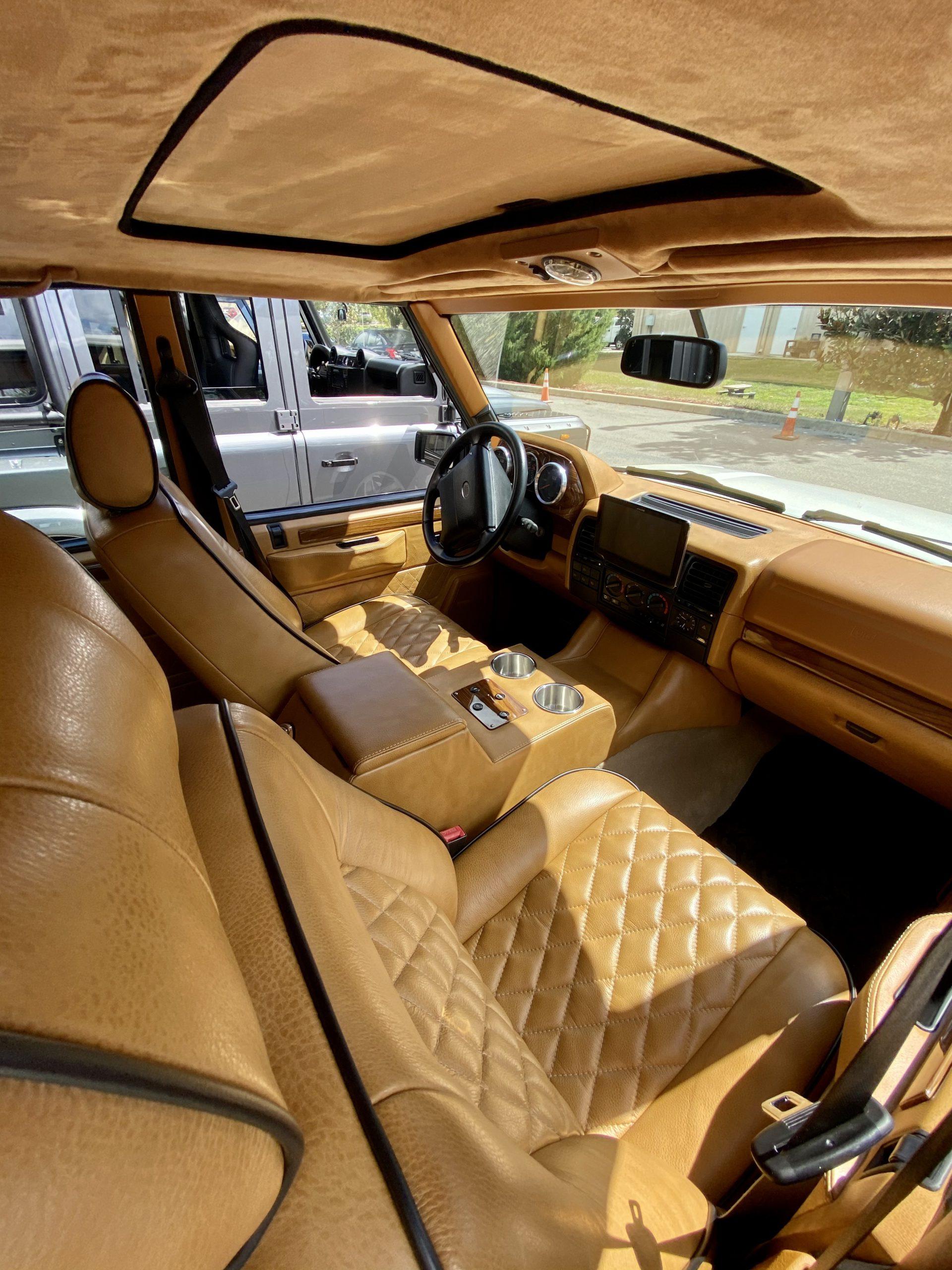 ECD tesla-powered RRC interior