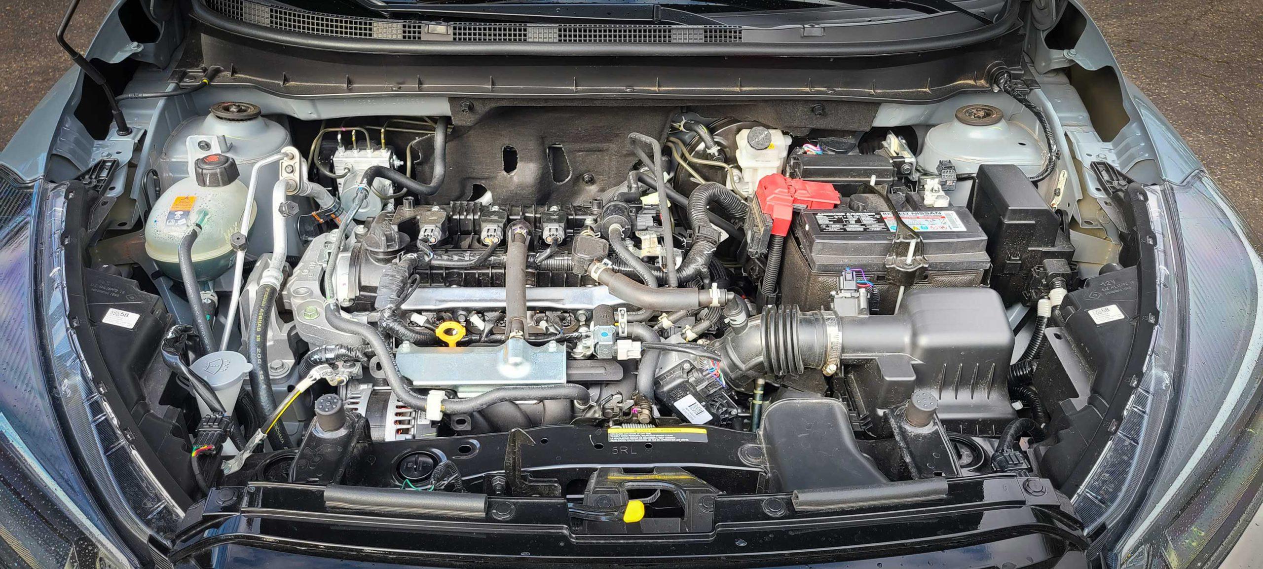 2021 Nissan Kicks Engine Bay
