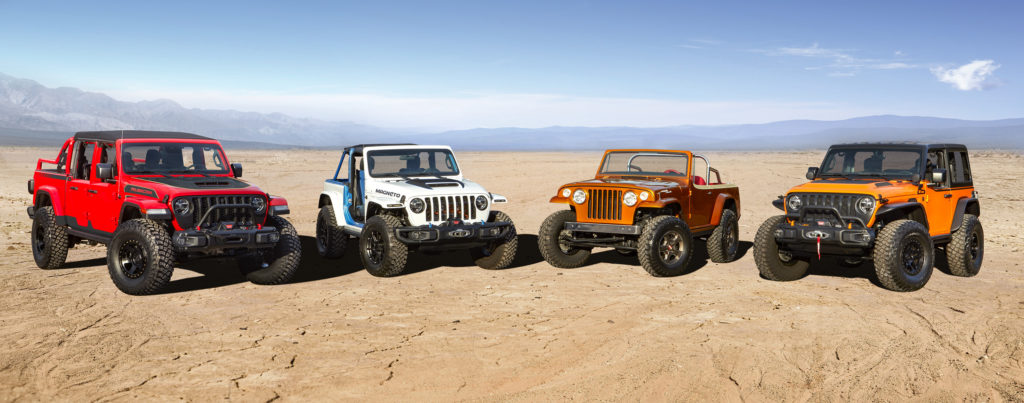 2021 Easter Jeep Safari concept vehicles