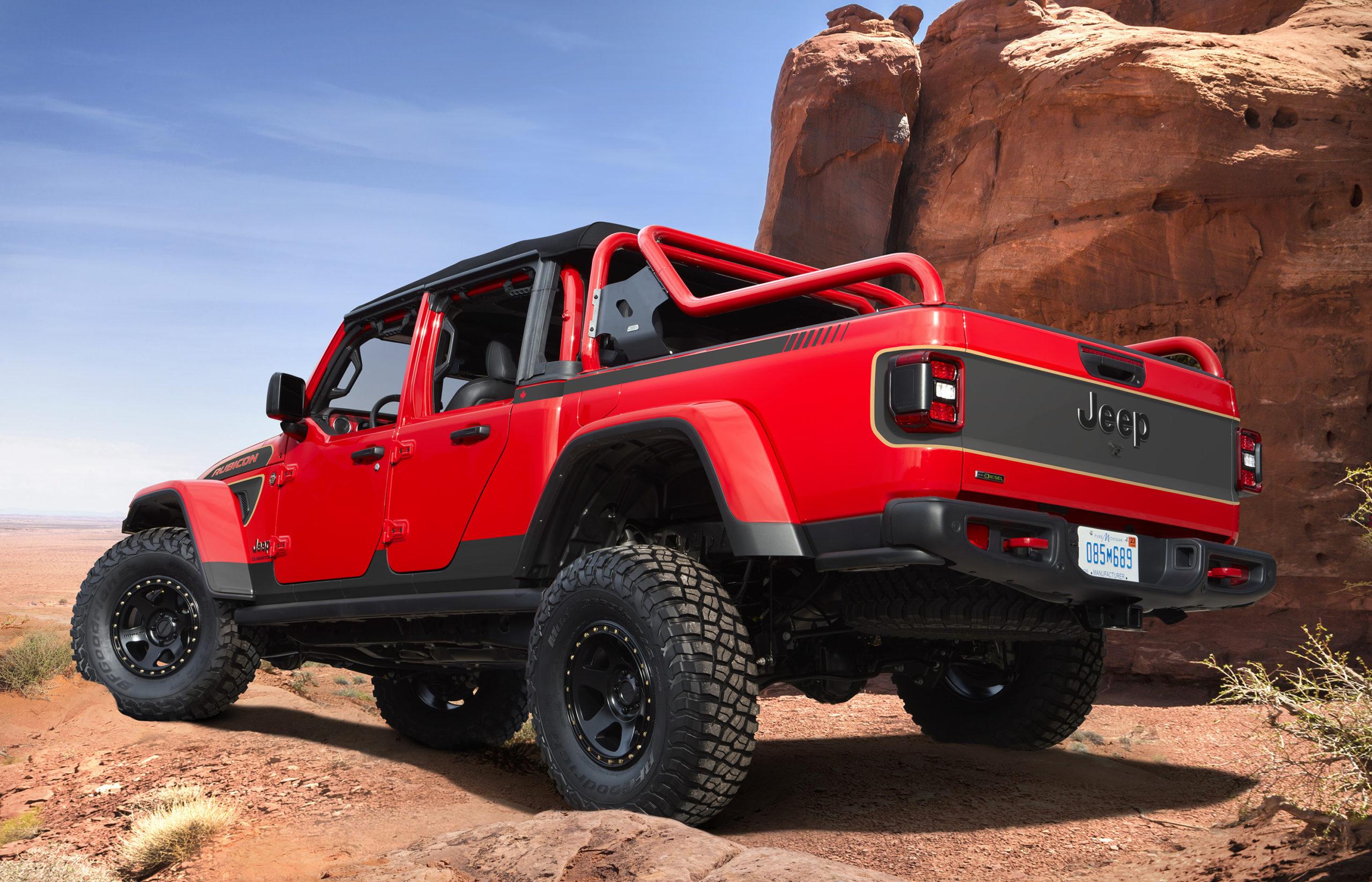 2021 Jeep Red Bare Concept