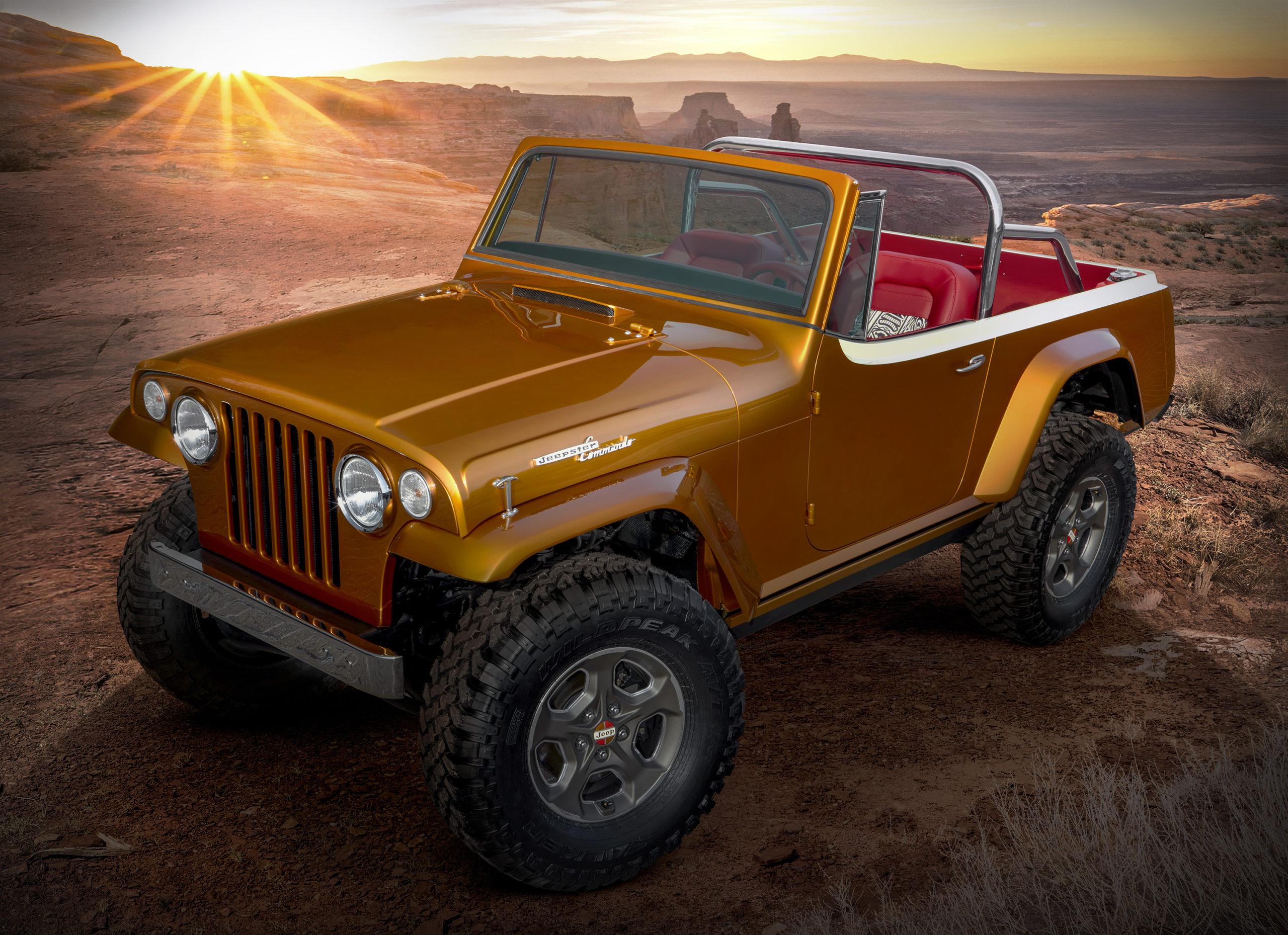 2021 Jeepster Beach Concept