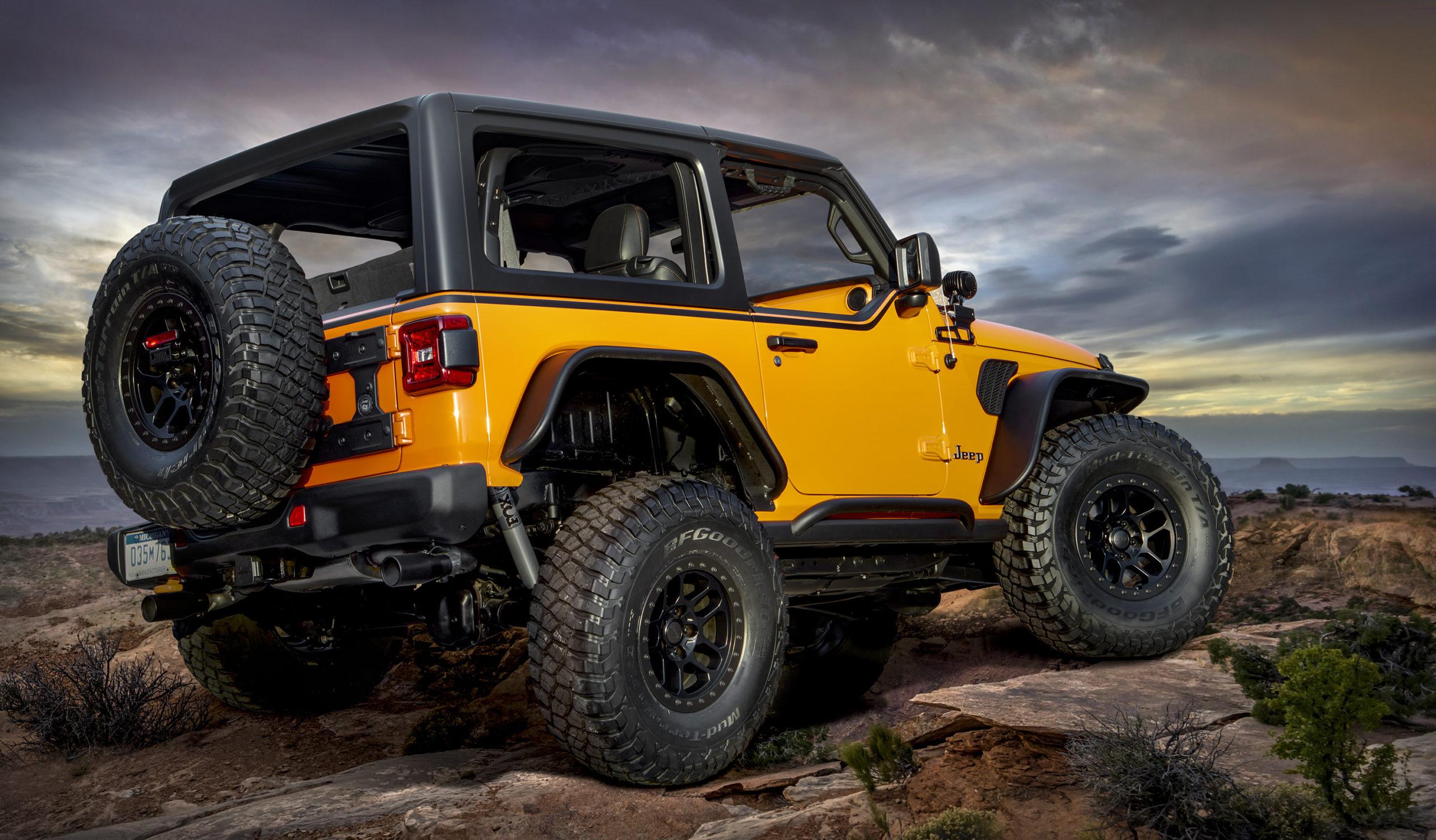 2021 Jeep Orange Peelz Concept
