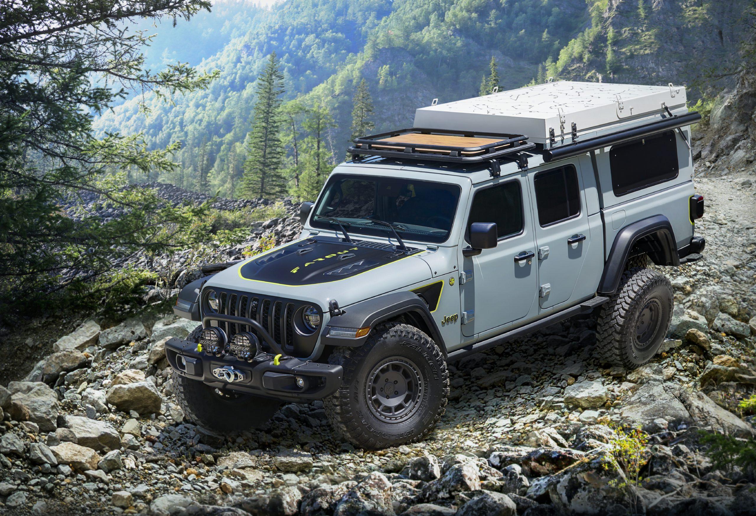 2020 Jeep Gladiator Farout Concept