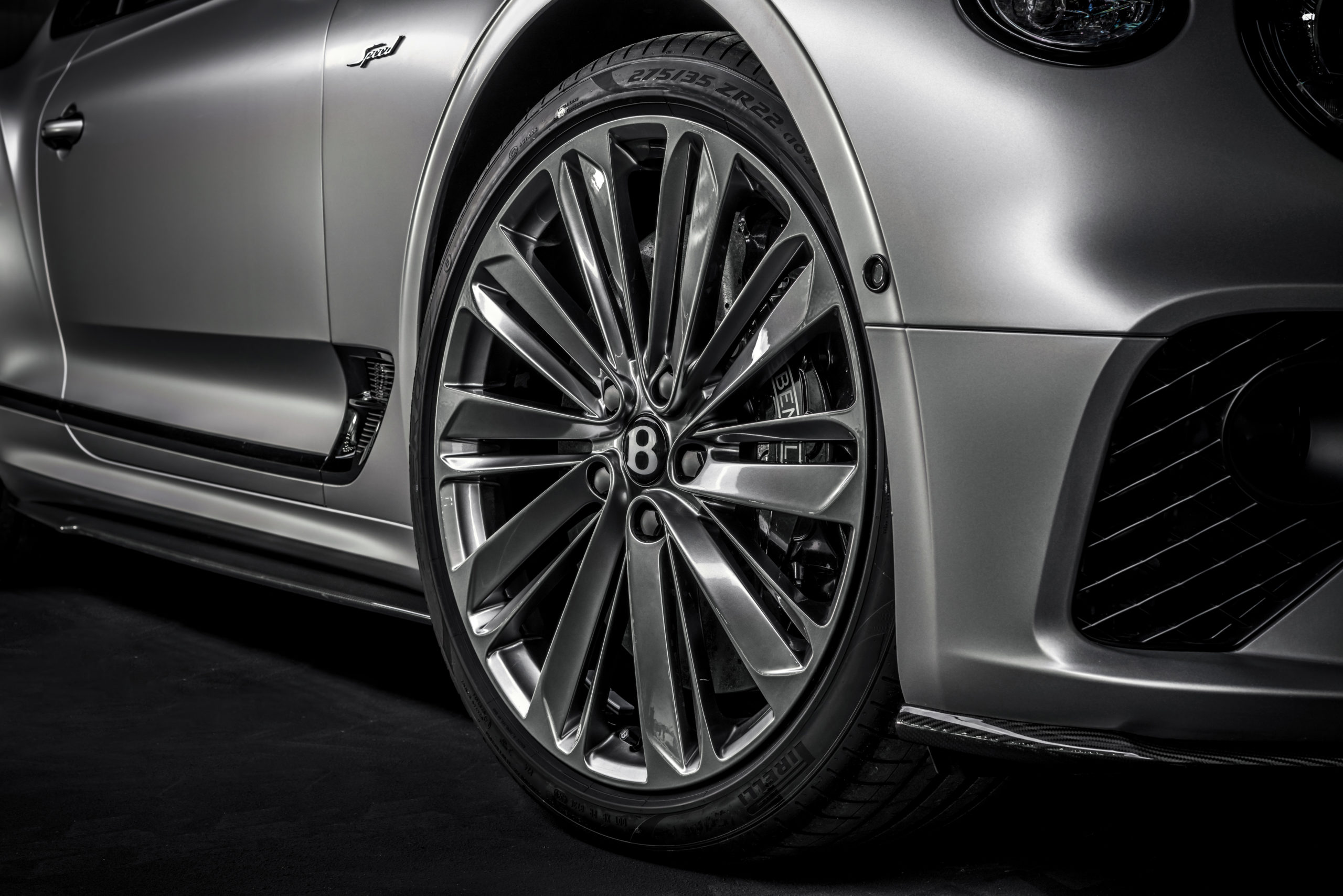 2022 Bentley Continental GT Speed 22-inch wheels
