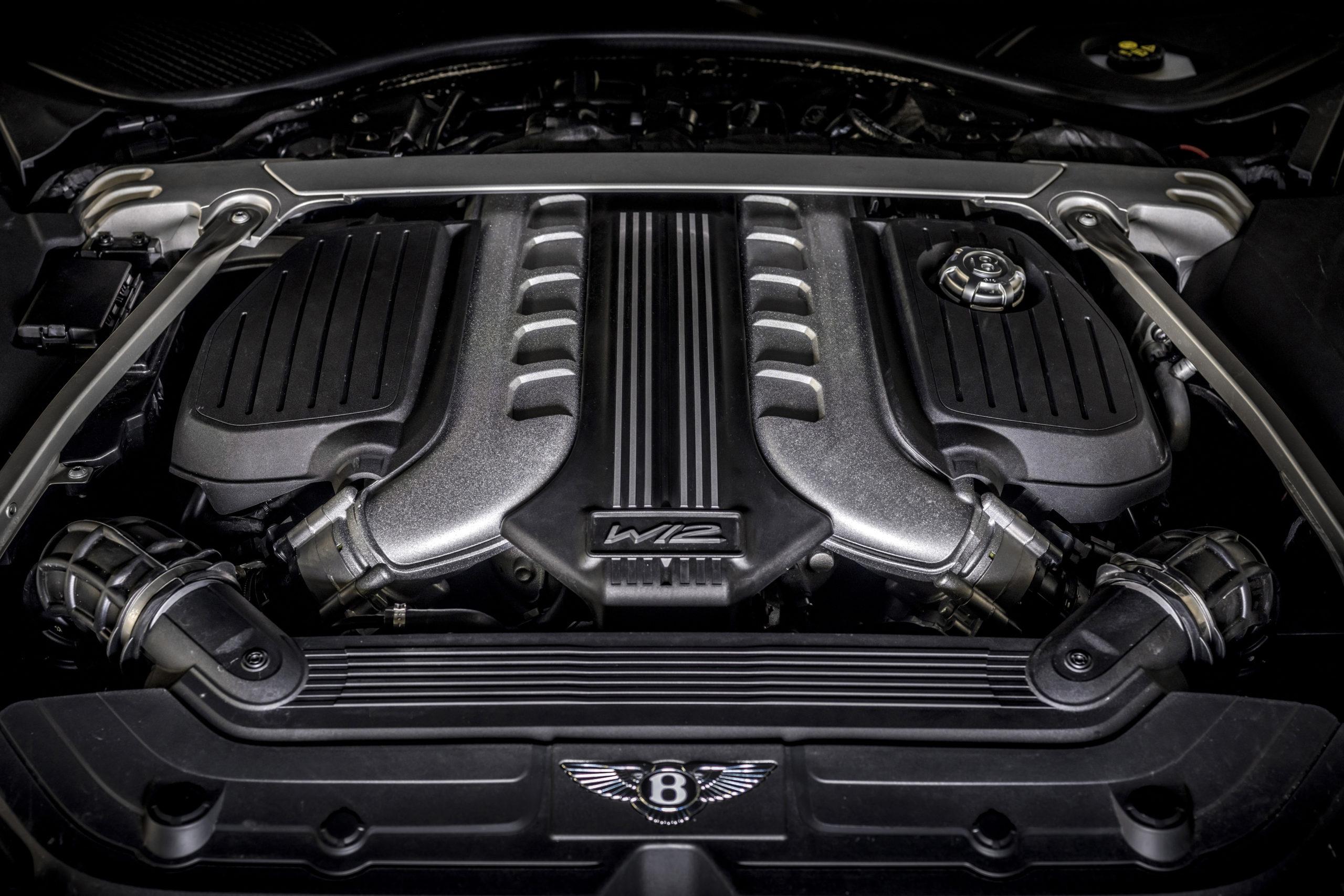 2022 Bentley Continental GT Speed 6.0L W12 engine