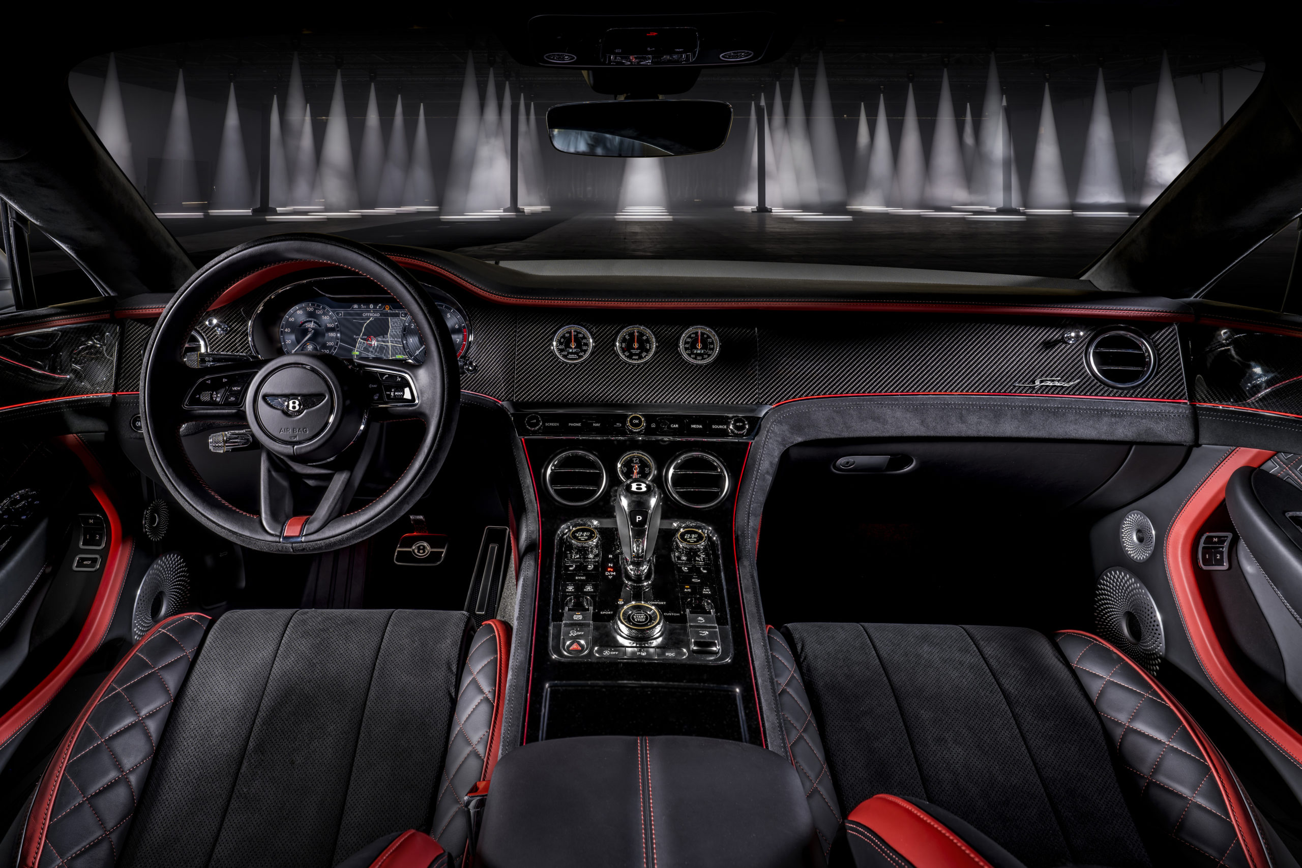 2022 Bentley Continental GT Speed 22-inch interior