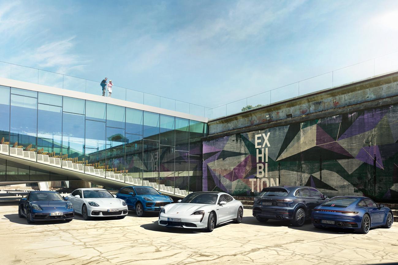 Porsche Drive subscription Taycan 4S introduction
