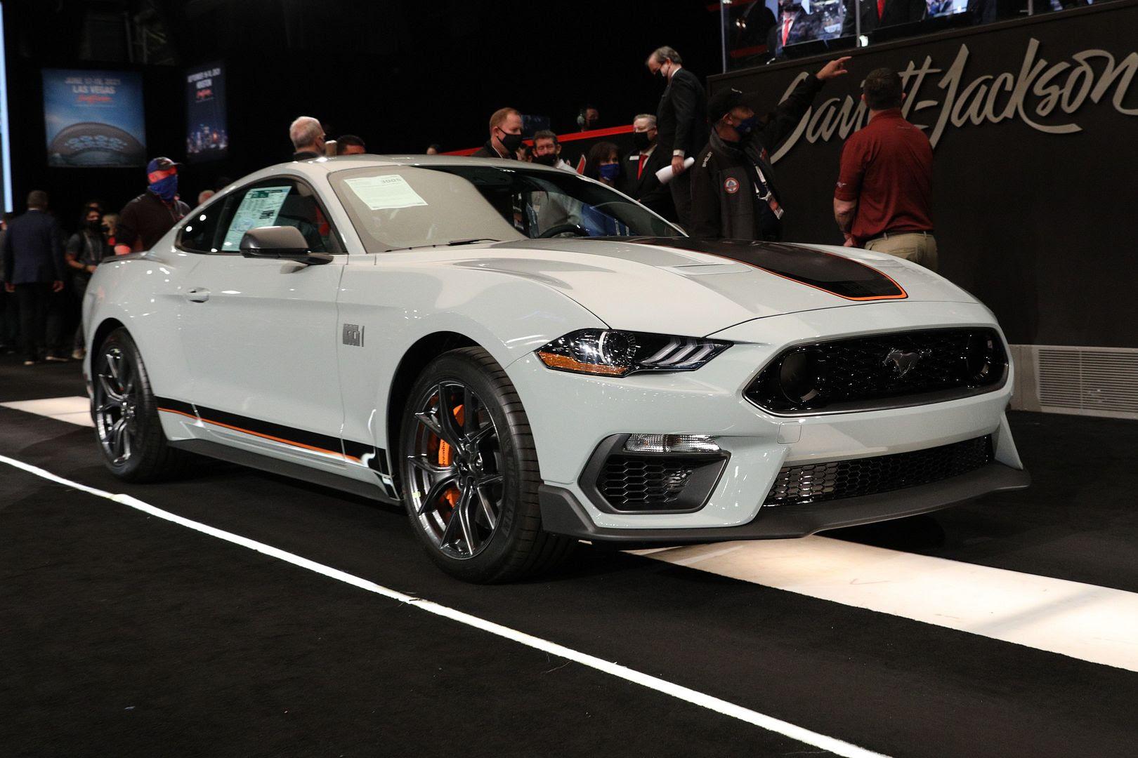 2021 Mustang Mach1 VIN 001 Barrett-Jackson