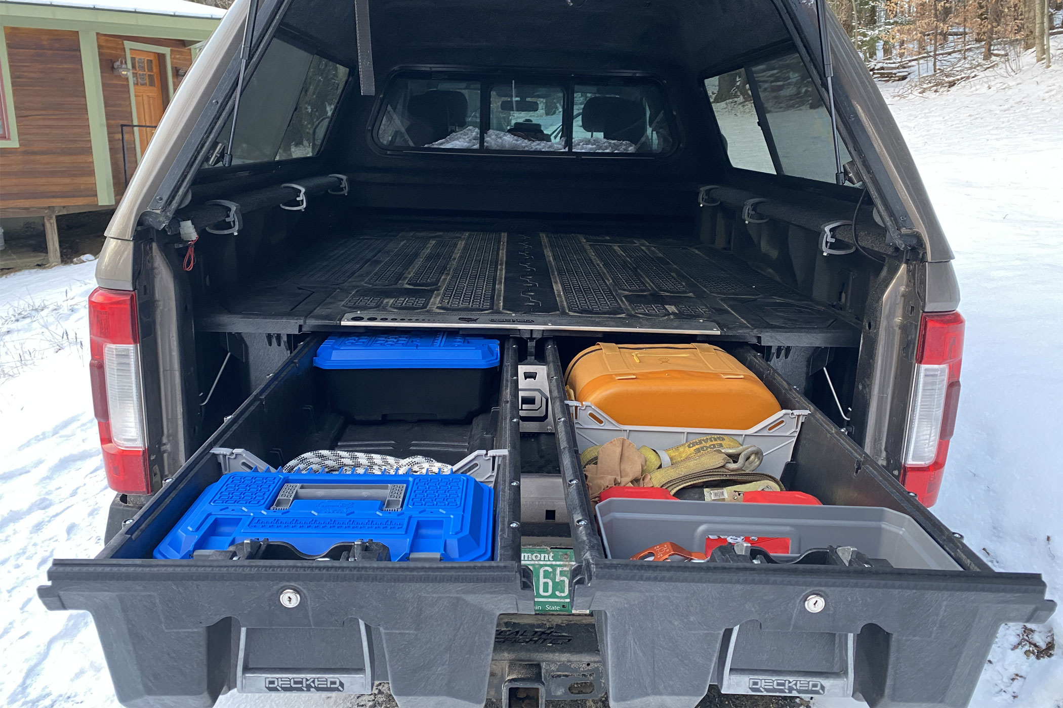 DECKED truck drawer system - toolboxes