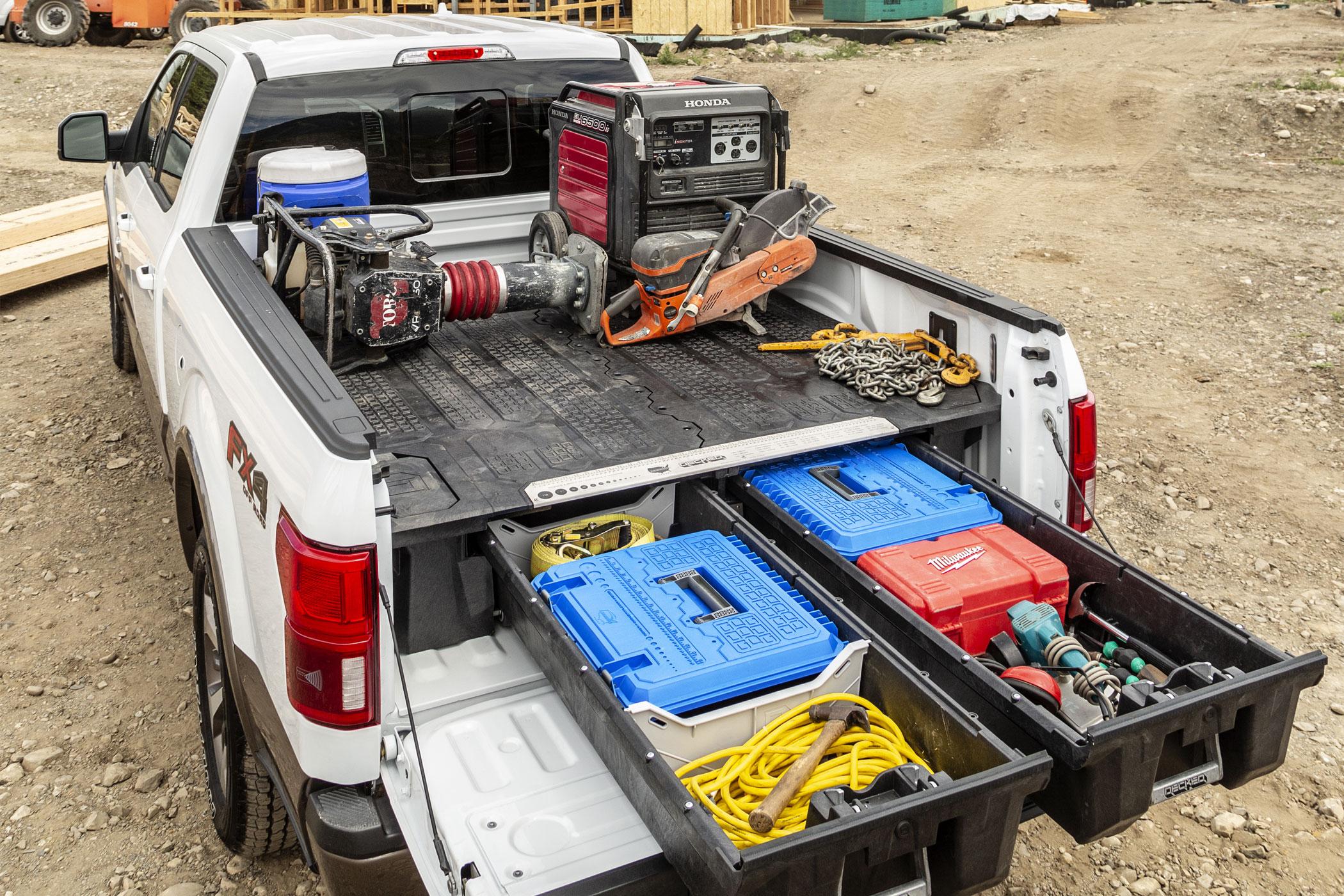 DECKED truck drawer system