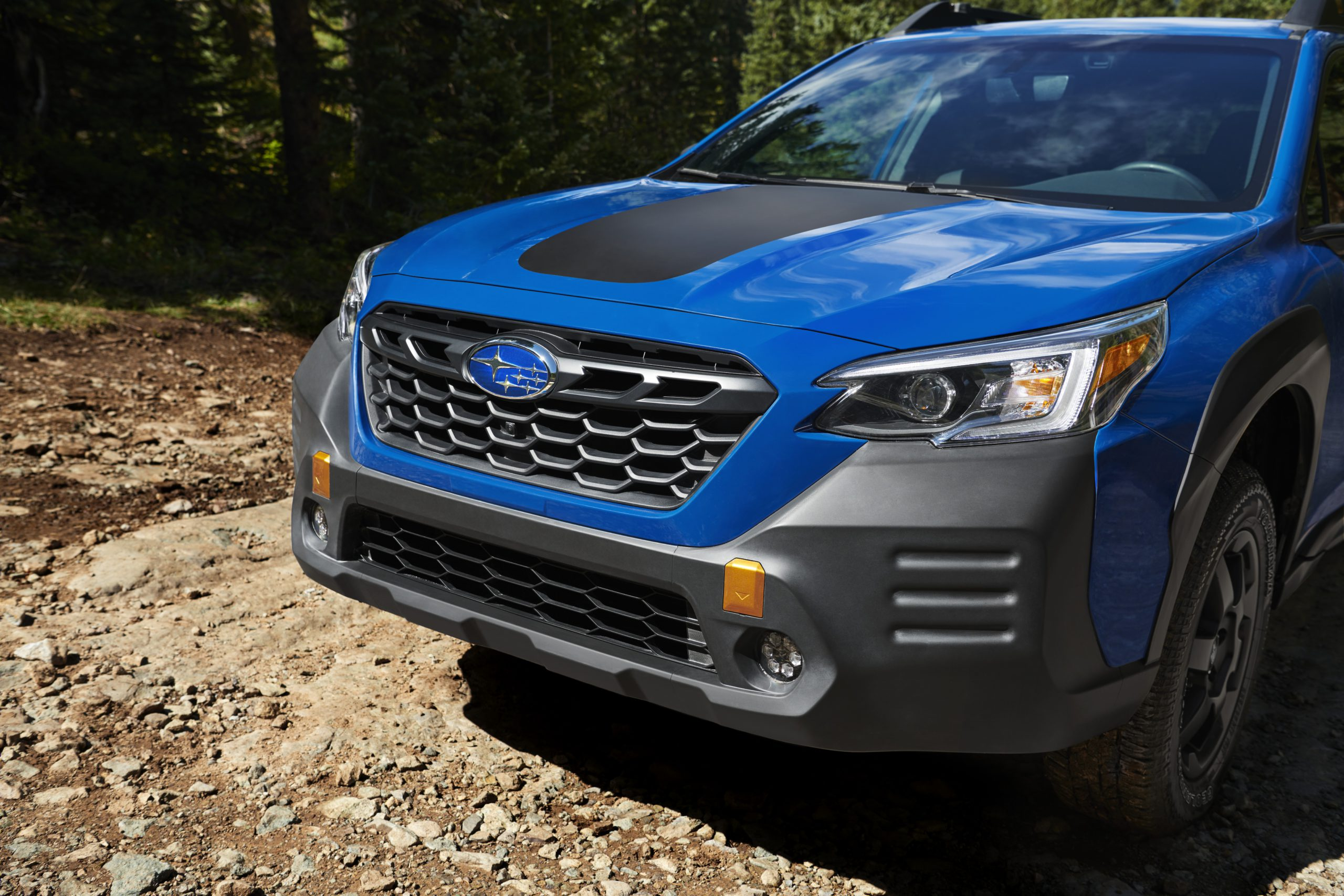 2022 Subaru Outback Wilderness front end